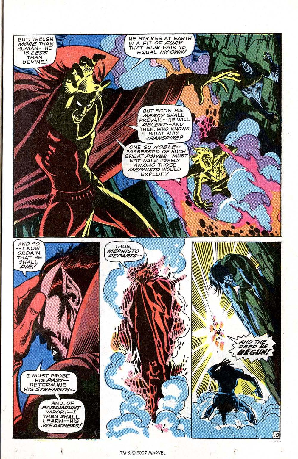 Silver Surfer (1968) issue 3 - Page 13