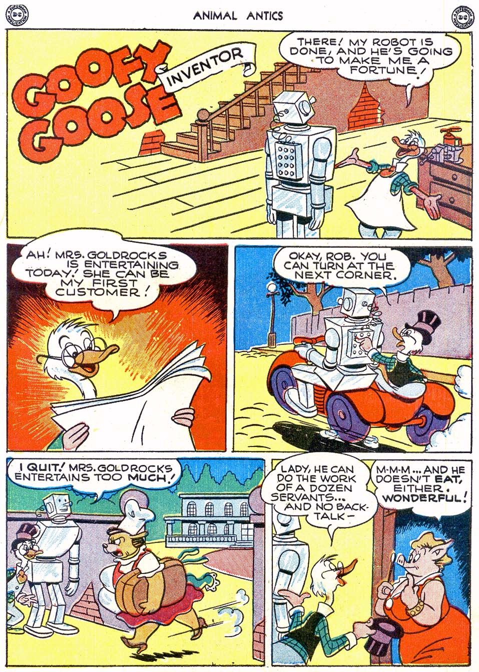 Read online Animal Antics comic -  Issue #4 - 41