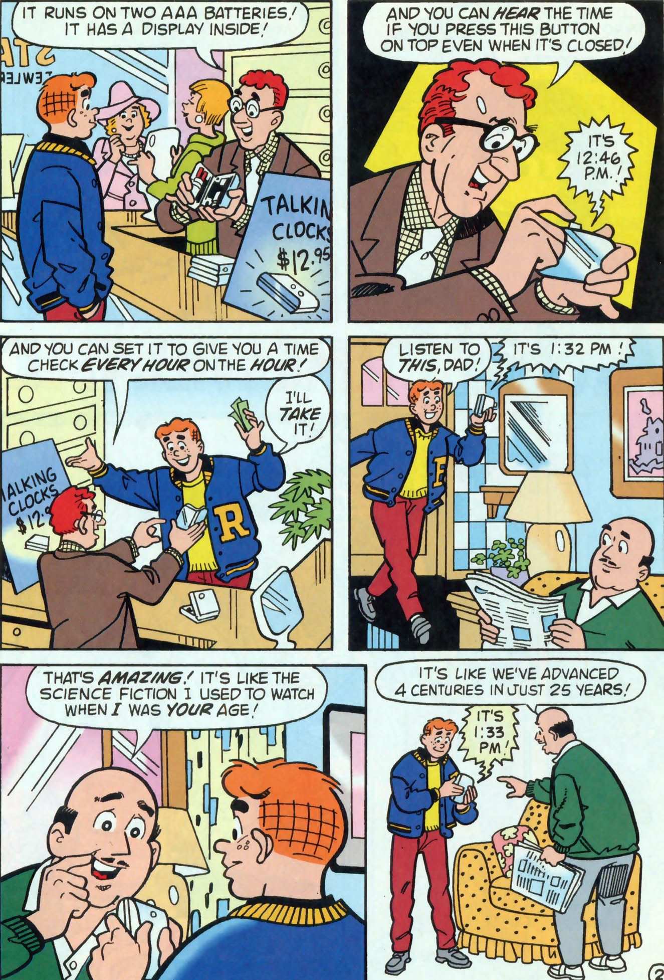Read online Archie (1960) comic -  Issue #460 - 20