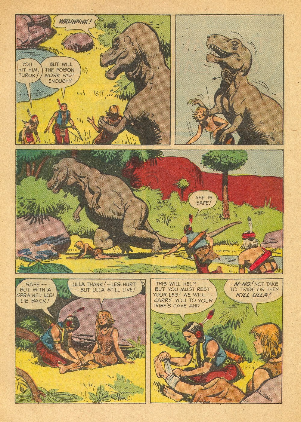 Read online Turok, Son of Stone comic -  Issue #23 - 4