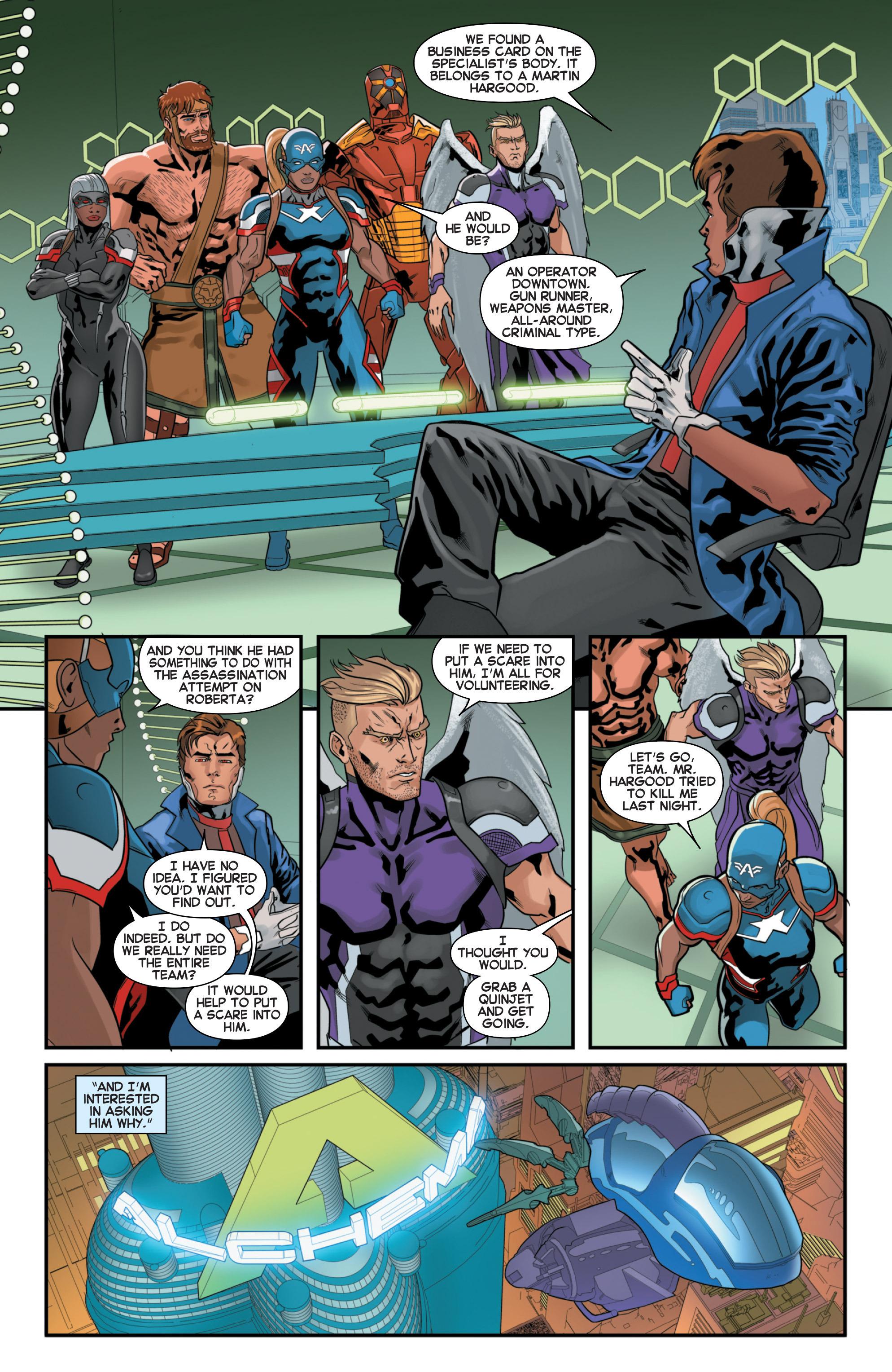 Read online Secret Wars 2099 comic -  Issue #2 - 16