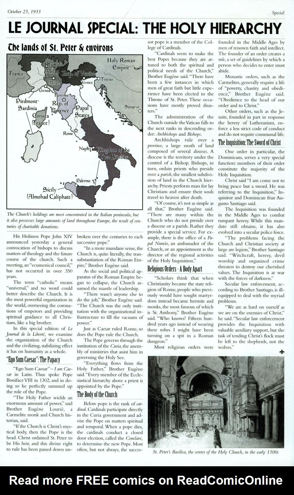 Read online Rex Mundi comic -  Issue #8 - 28