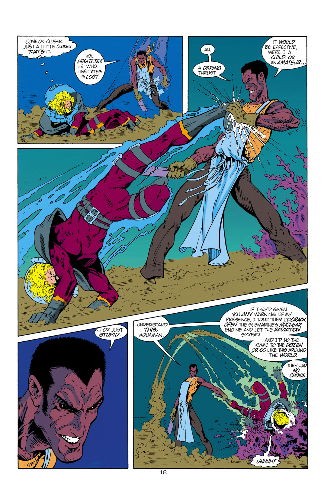 Read online Aquaman (1994) comic -  Issue #1 - 19