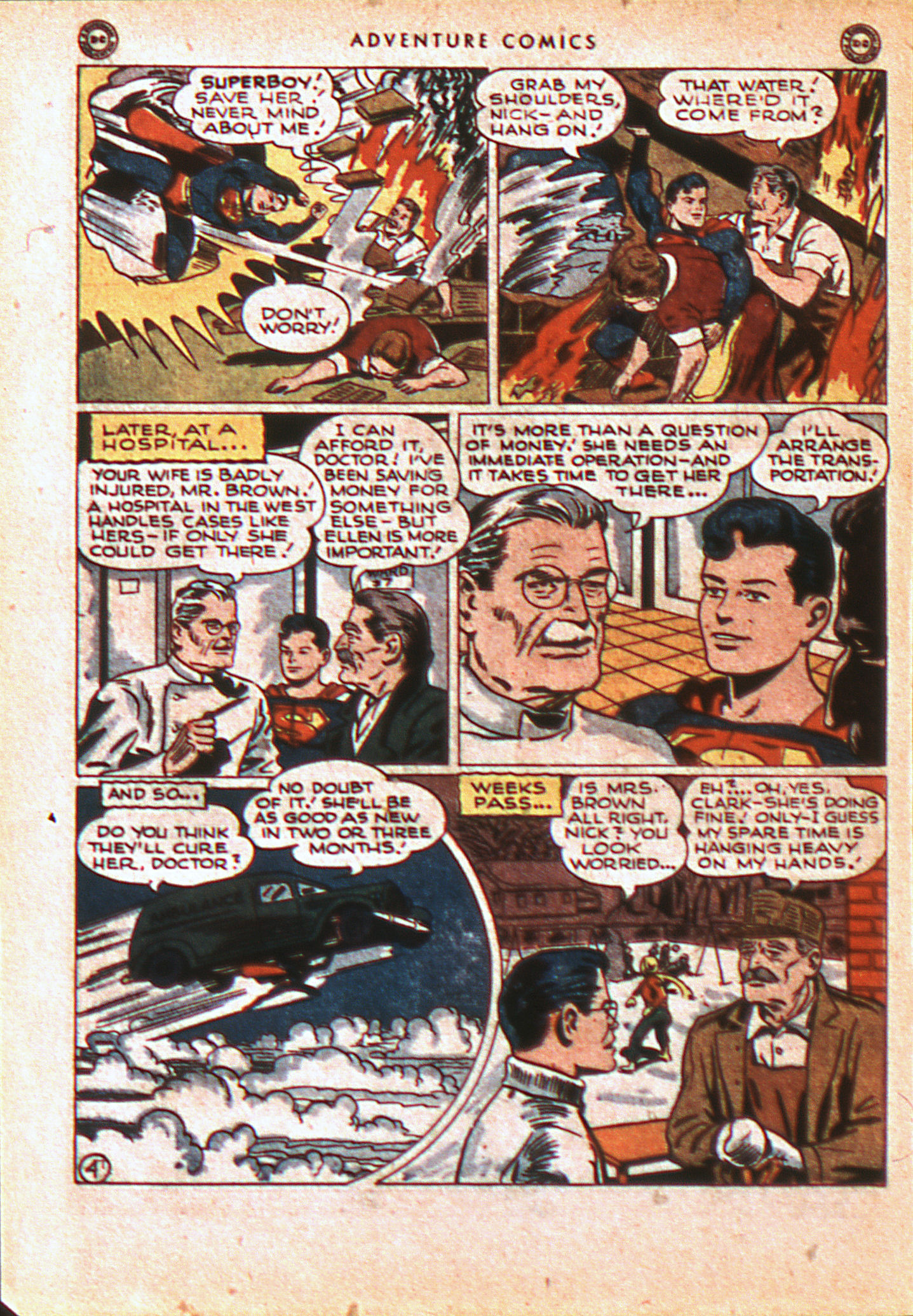 Read online Adventure Comics (1938) comic -  Issue #113 - 7