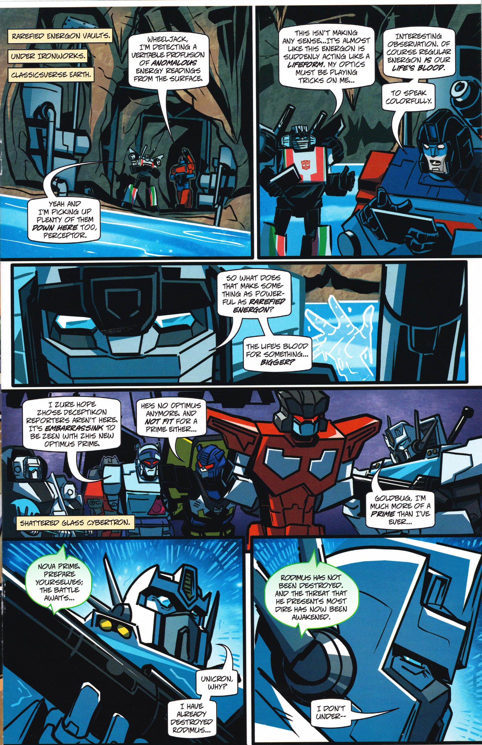 Read online Transformers: Collectors' Club comic -  Issue #66 - 5