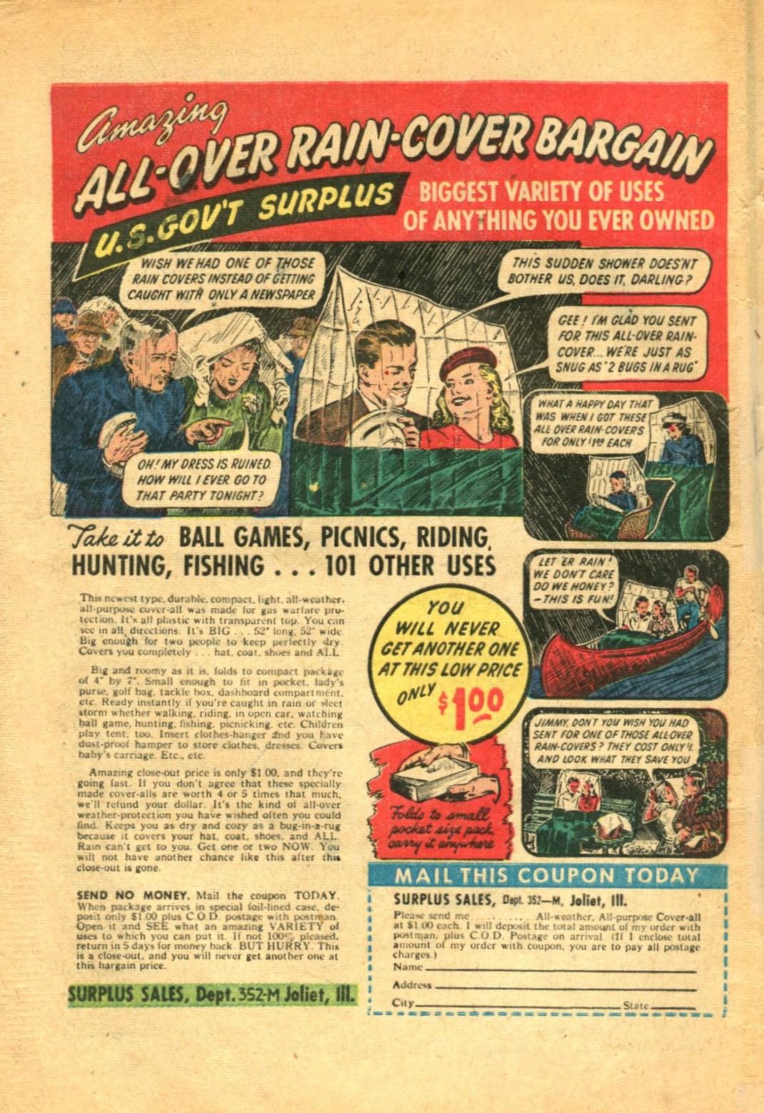 Read online Shadow Comics comic -  Issue #91 - 50