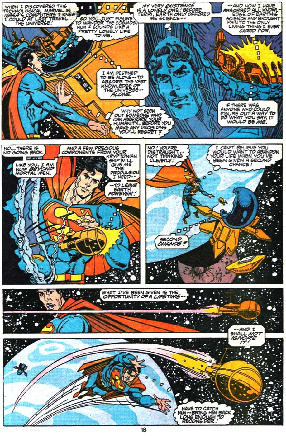Read online Adventures of Superman (1987) comic -  Issue #468 - 19