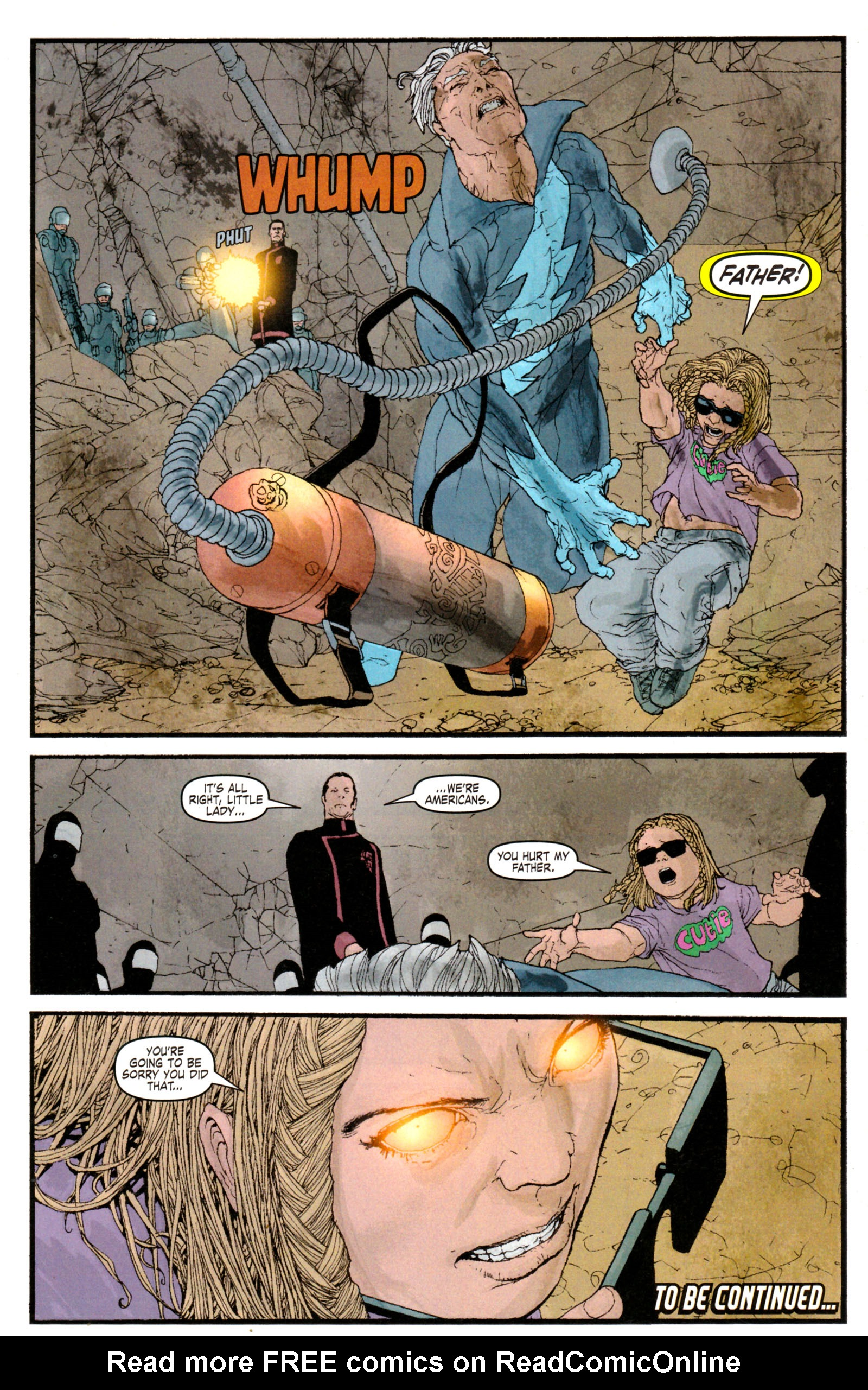 Read online Son of M comic -  Issue #5 - 33