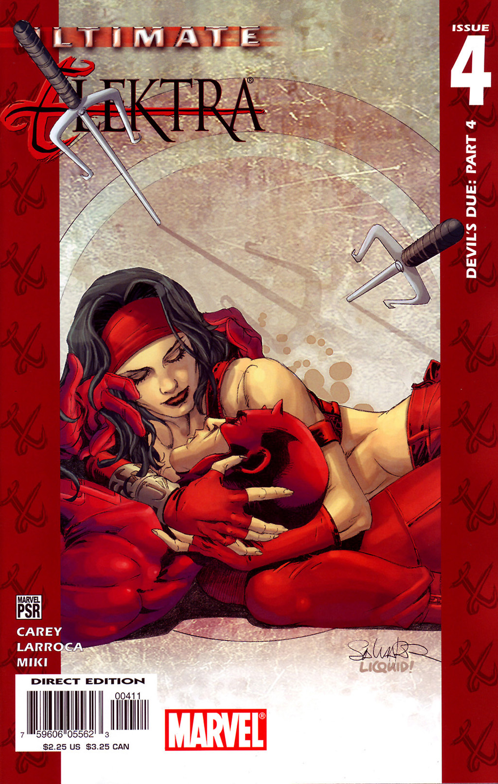 Read online Ultimate Elektra comic -  Issue #4 - 2