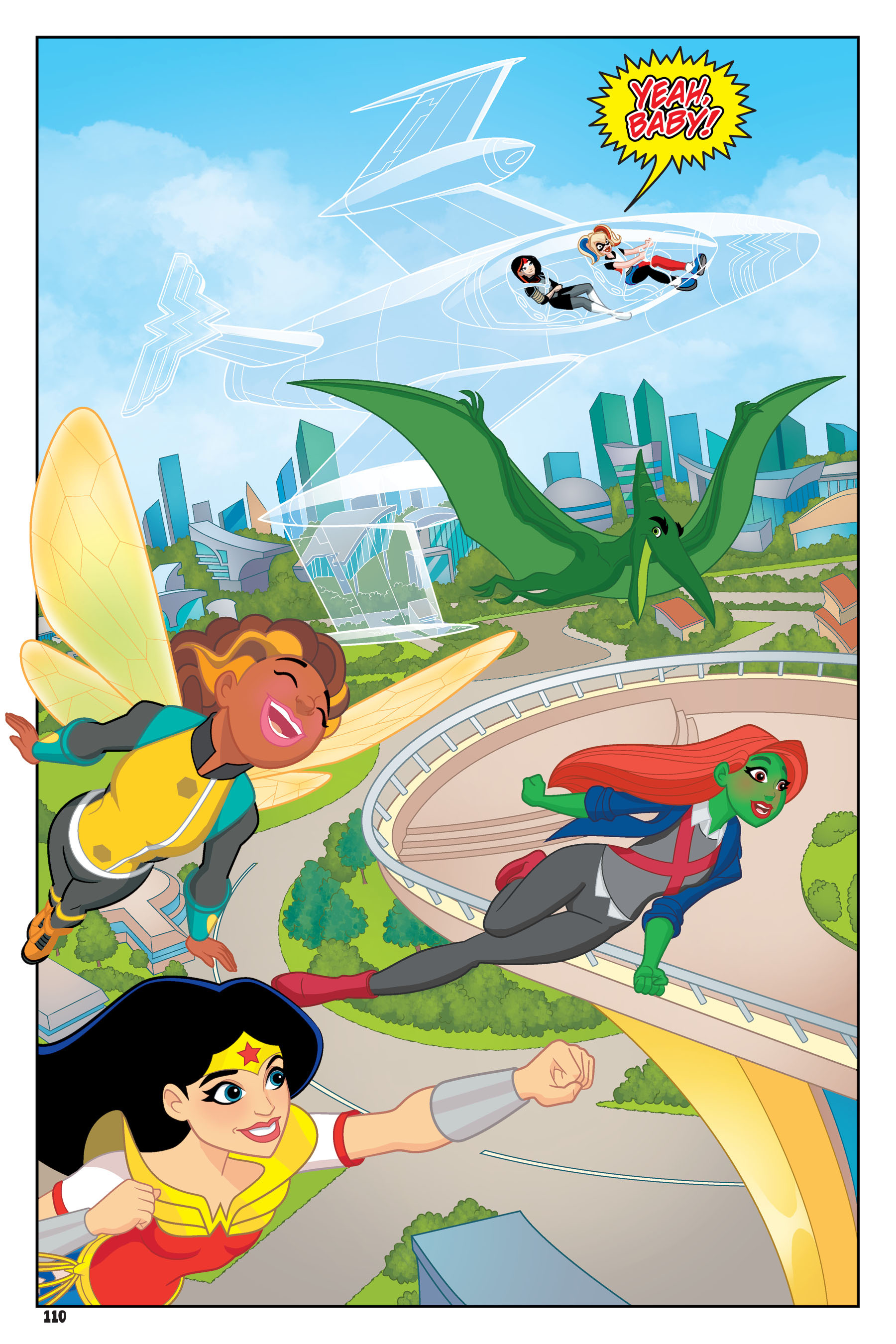 Read online DC Super Hero Girls: Hits and Myths comic -  Issue # Full - 106
