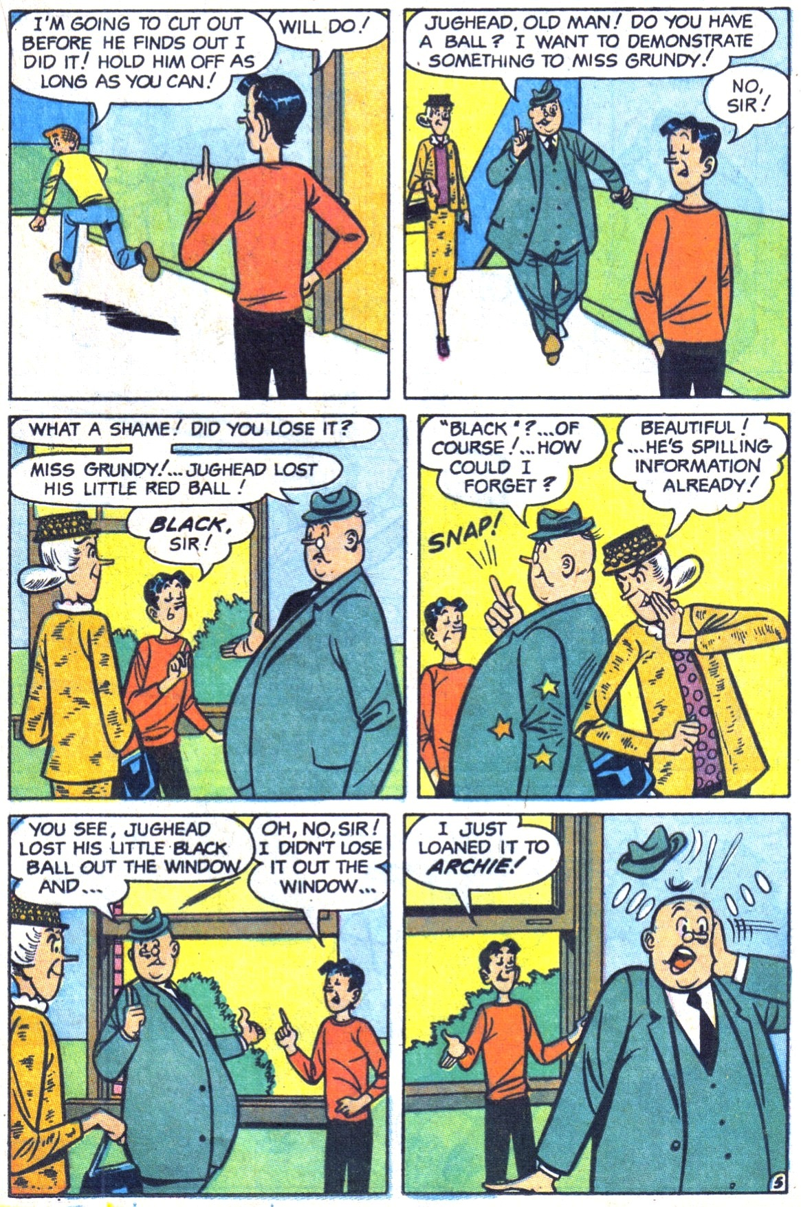 Read online Archie (1960) comic -  Issue #178 - 17