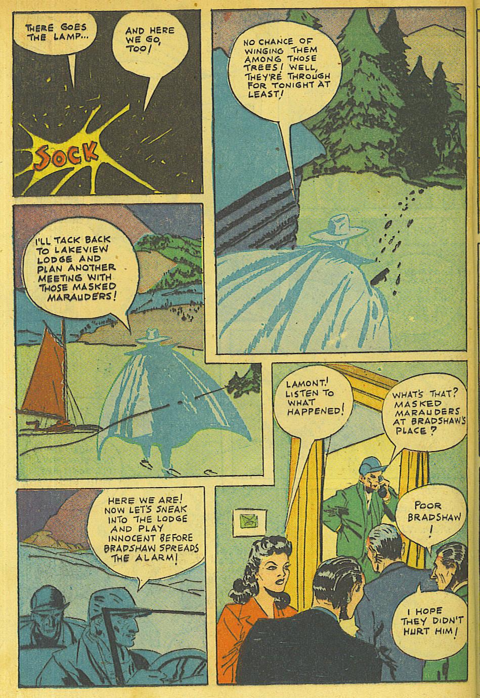 Read online Shadow Comics comic -  Issue #63 - 30