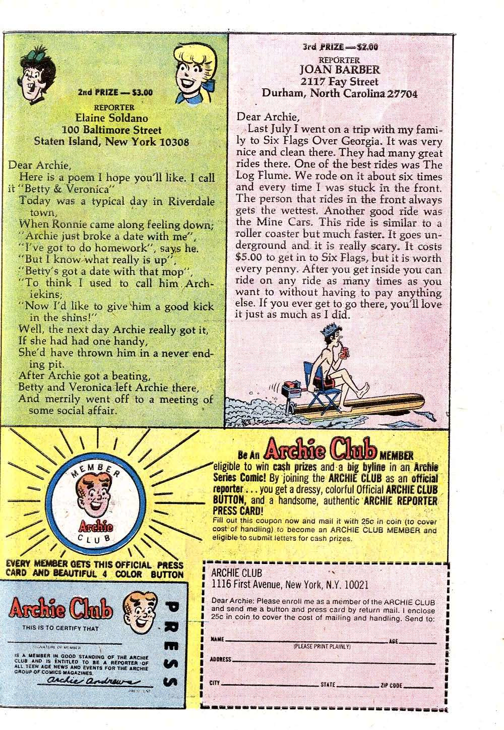 Read online Archie (1960) comic -  Issue #221 - 27