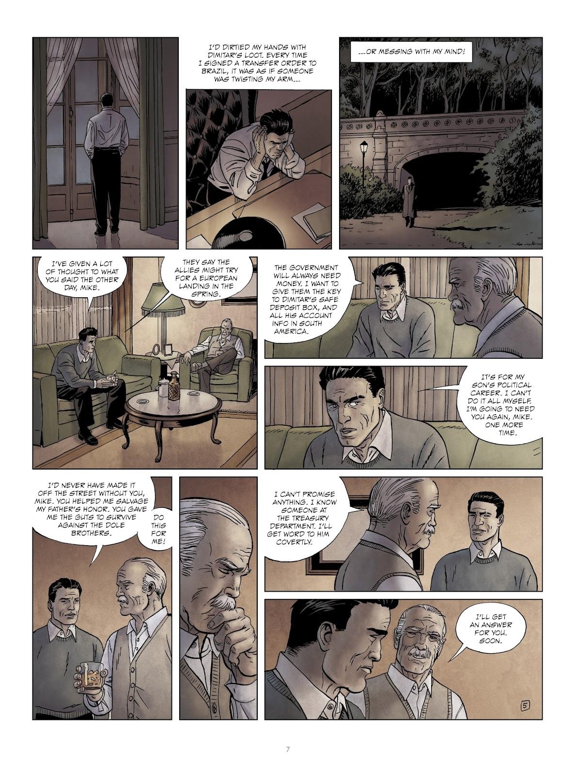 Read online Sherman comic -  Issue #6 - 7