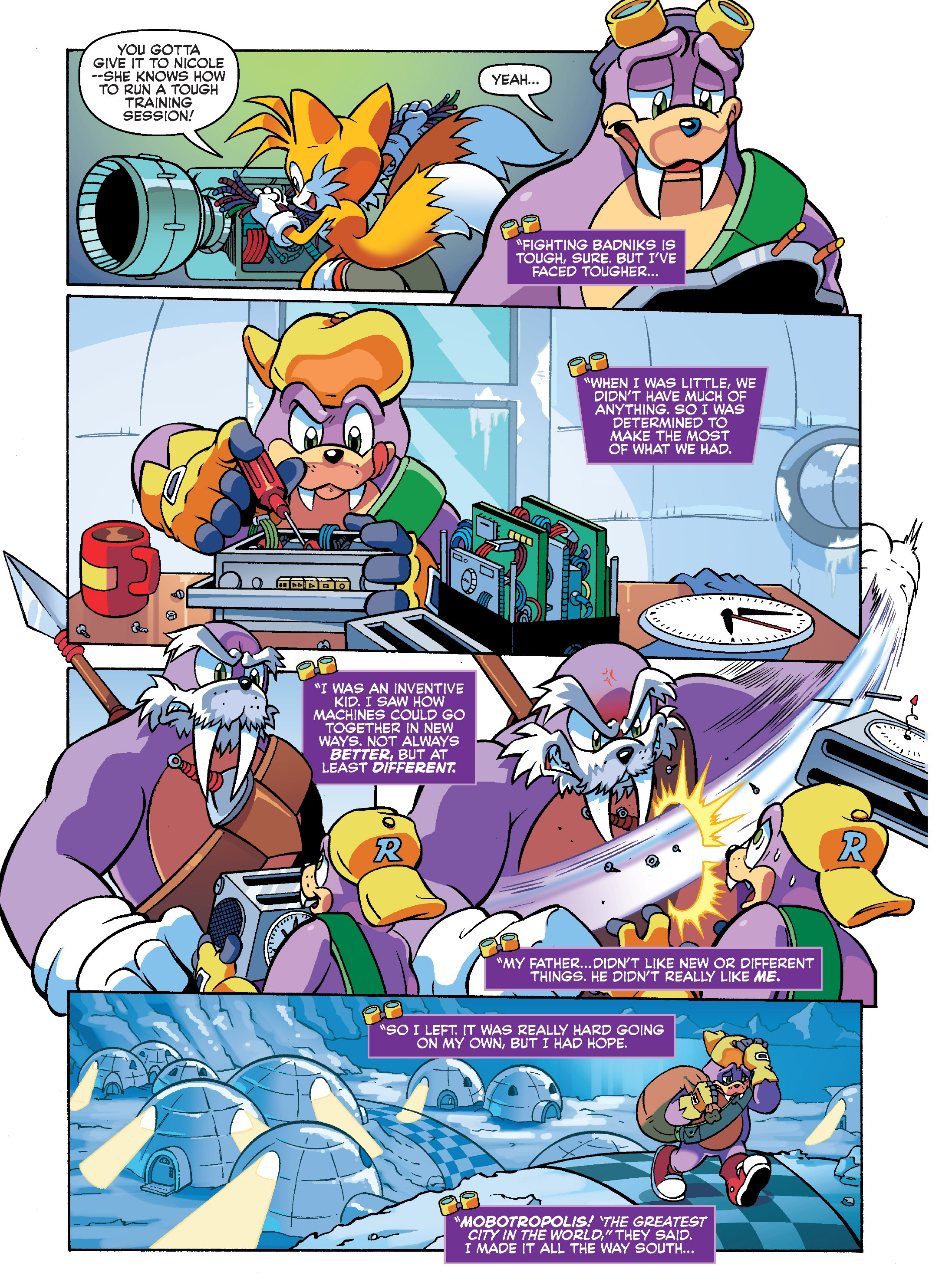 Read online Sonic Super Digest comic -  Issue #7 - 3
