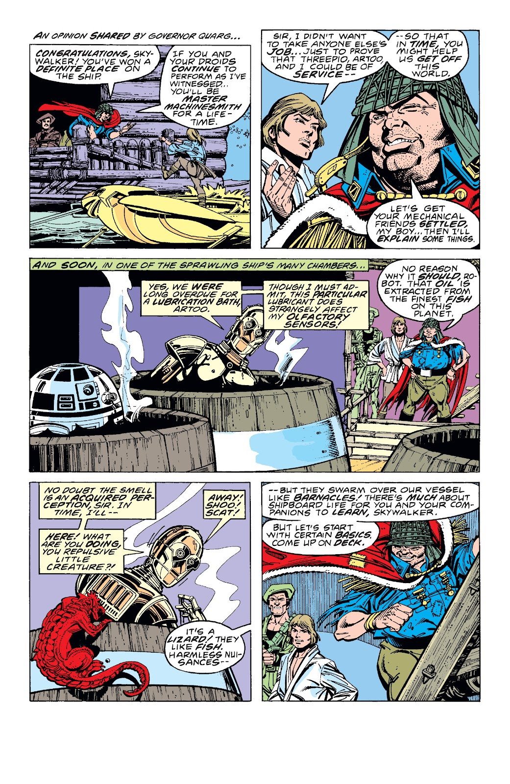 Read online Star Wars Legends: The Original Marvel Years - Epic Collection comic -  Issue # TPB 1 (Part 3) - 32