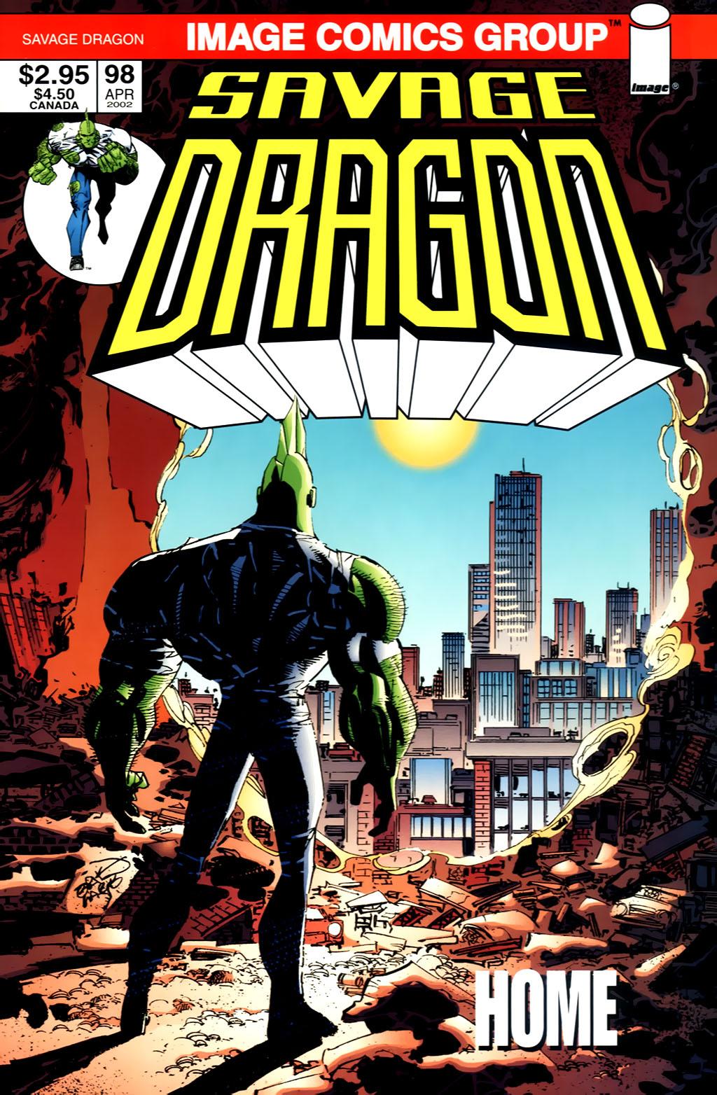 The Savage Dragon (1993) Issue #98 #101 - English 1