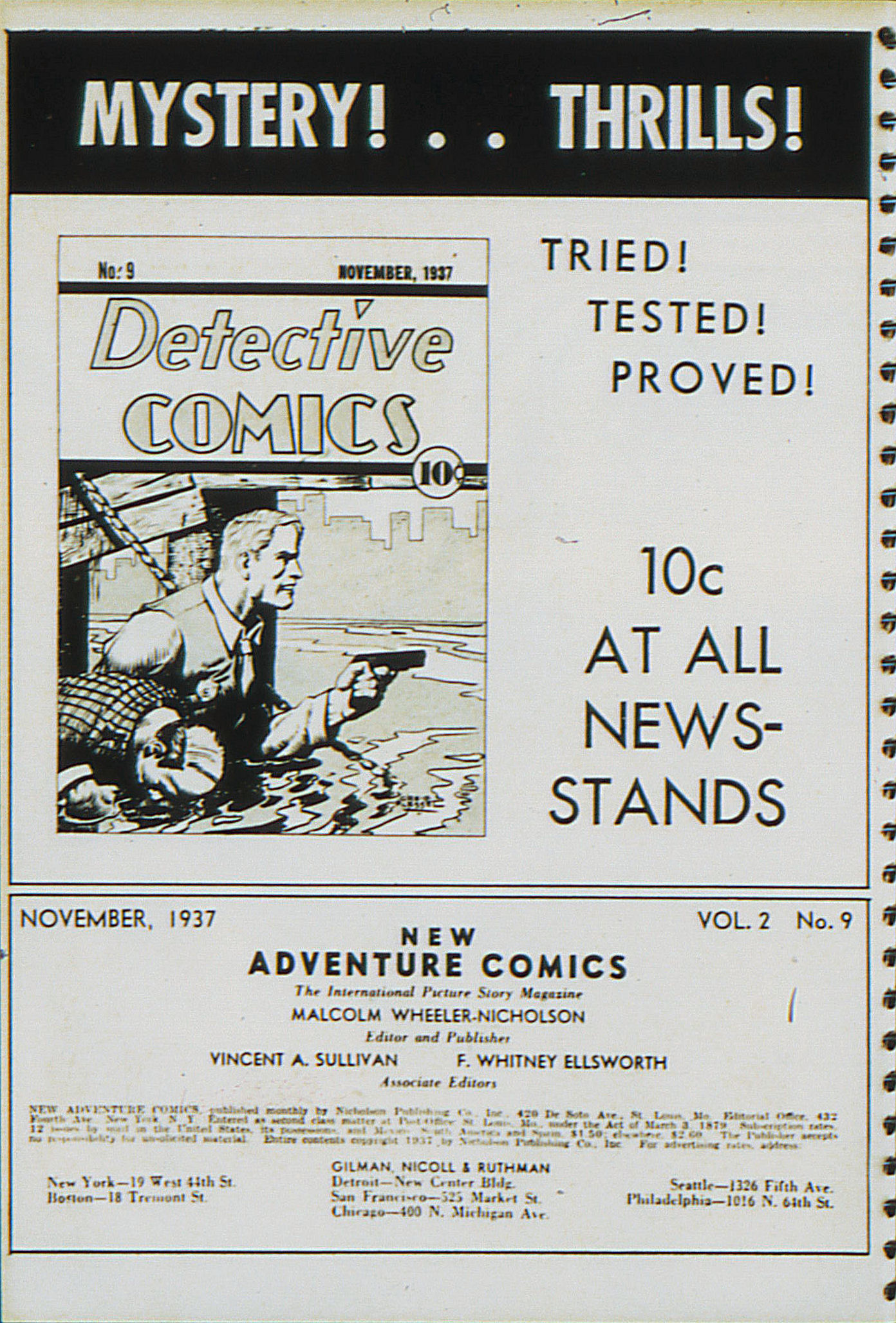 Read online Adventure Comics (1938) comic -  Issue #21 - 3