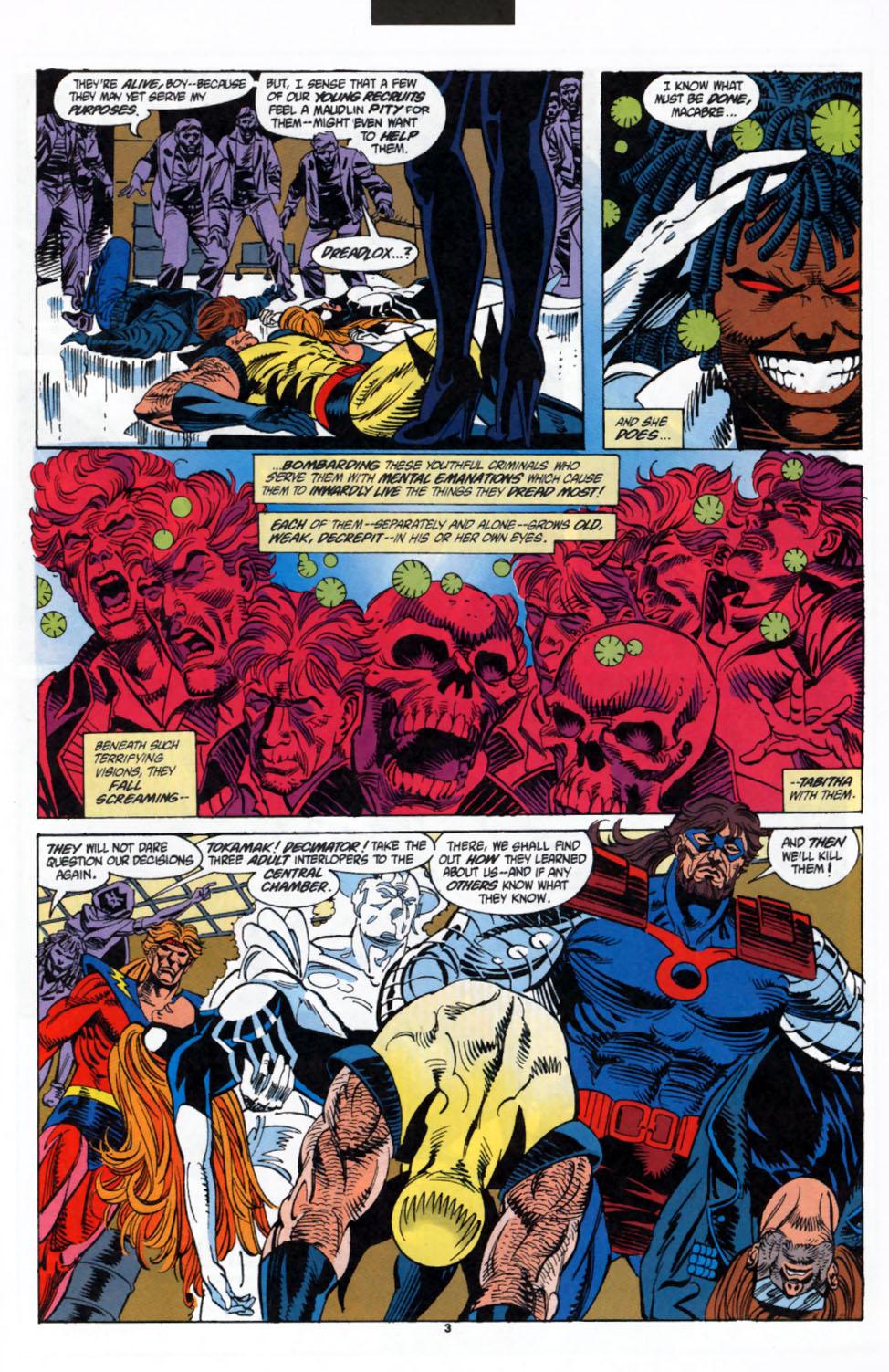 Read online Secret Defenders comic -  Issue #3 - 4