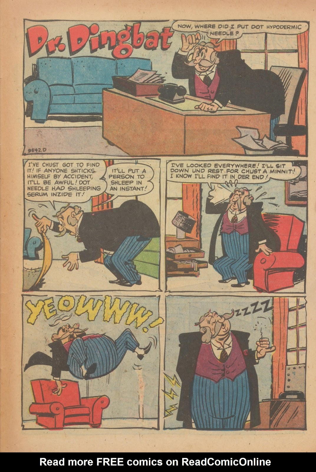 Read online Nellie The Nurse (1945) comic -  Issue #33 - 31