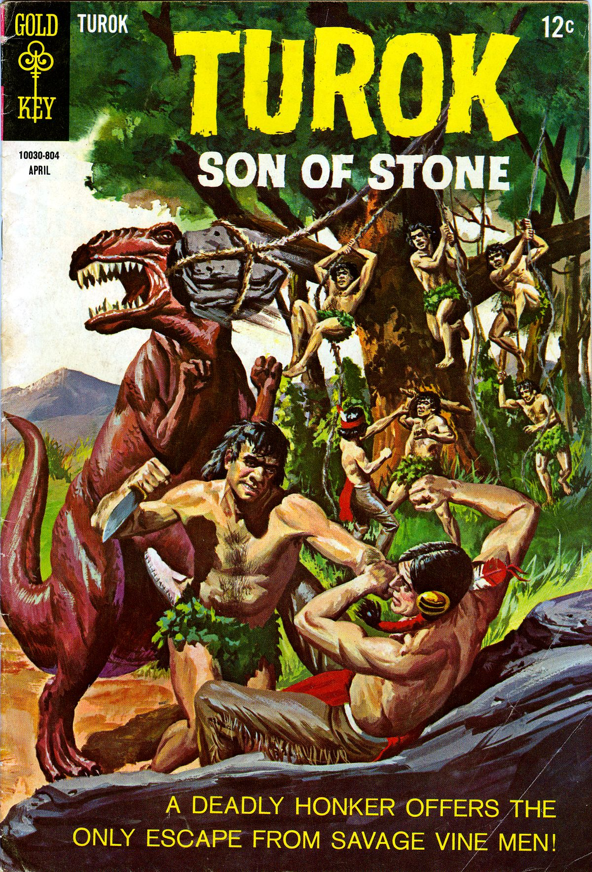 Read online Turok, Son of Stone comic -  Issue #61 - 1