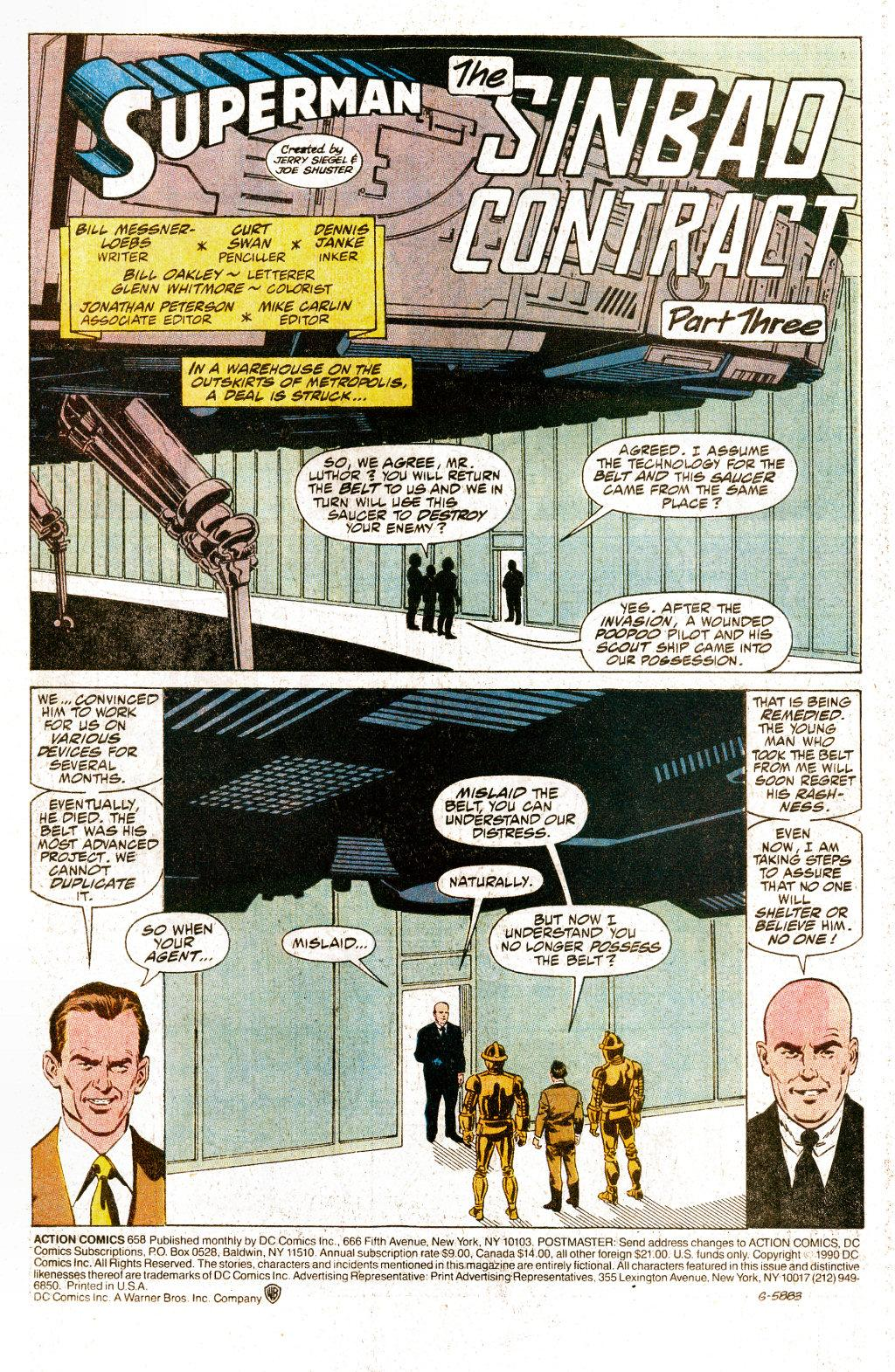 Action Comics (1938) 658 Page 1