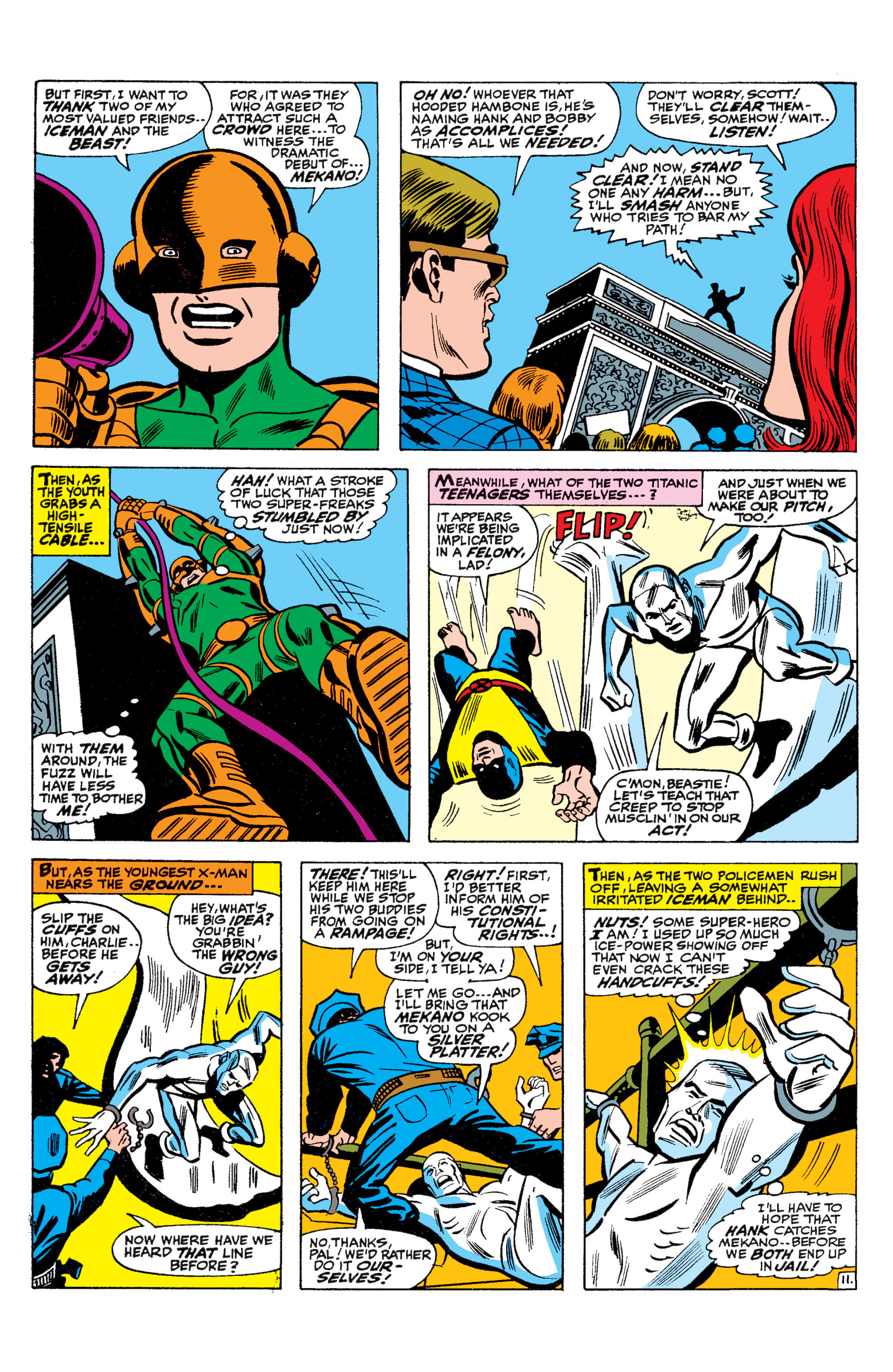 Read online Uncanny X-Men (1963) comic -  Issue #36 - 12