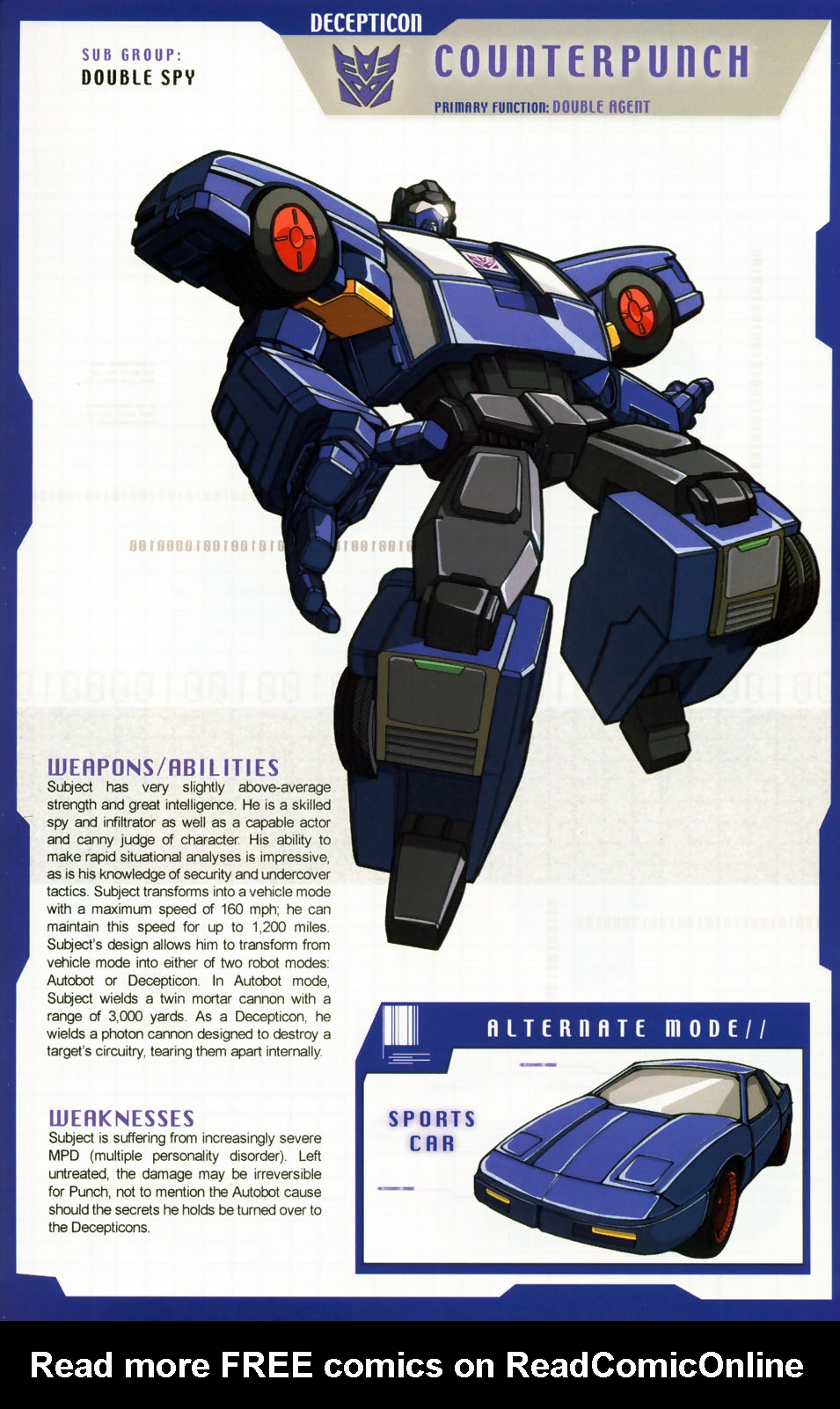 Read online Transformers: More than Meets the Eye comic -  Issue #5 - 11