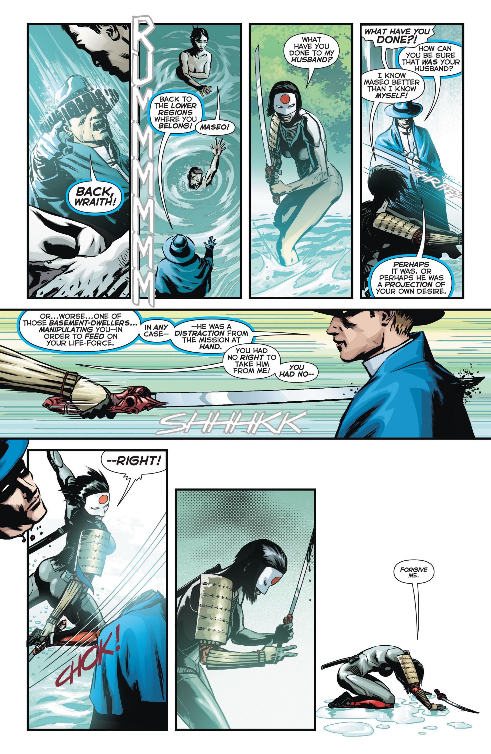 Read online Trinity of Sin: The Phantom Stranger comic -  Issue #11 - 12