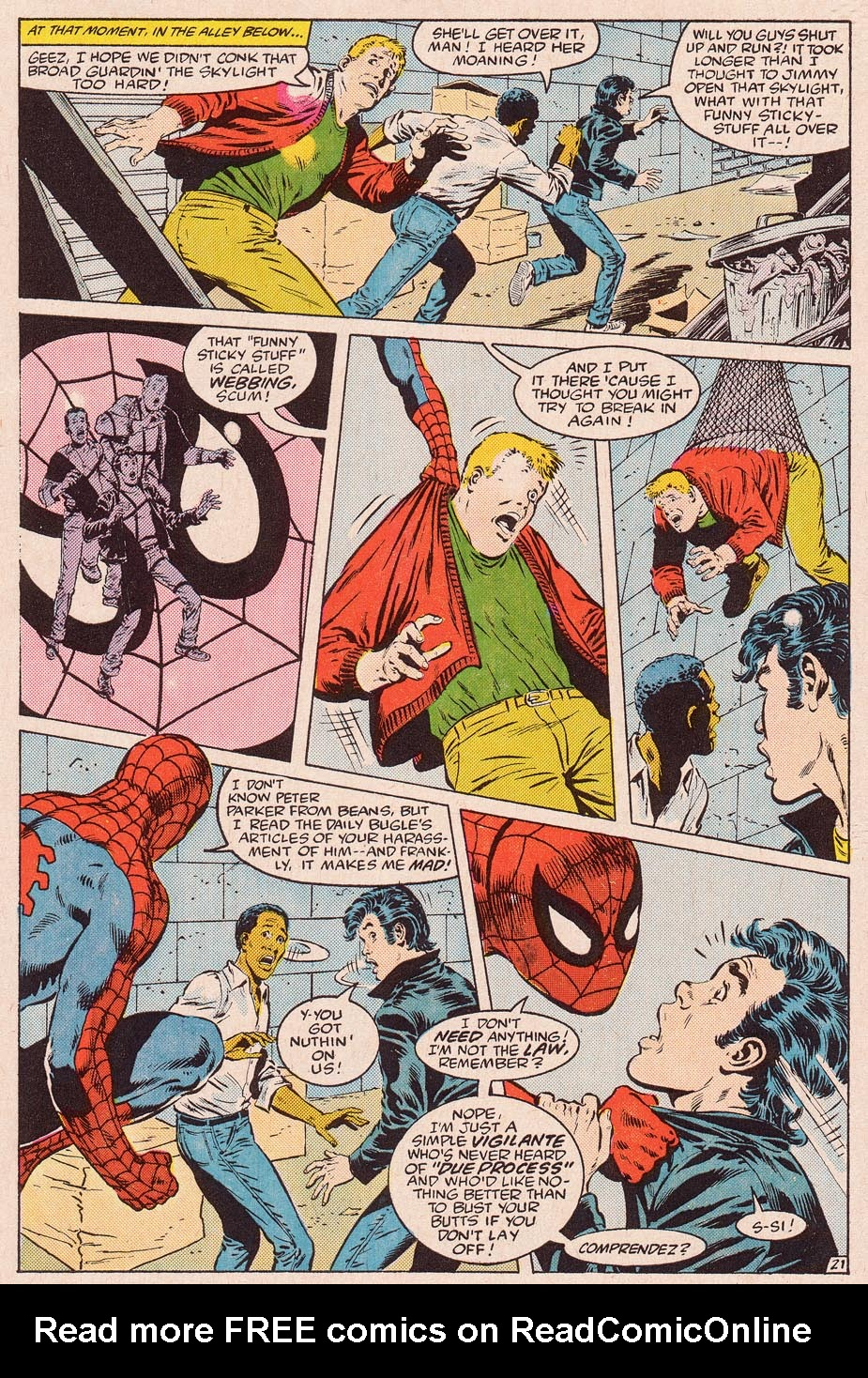 Web of Spider-Man (1985) Issue #11 #21 - English 22