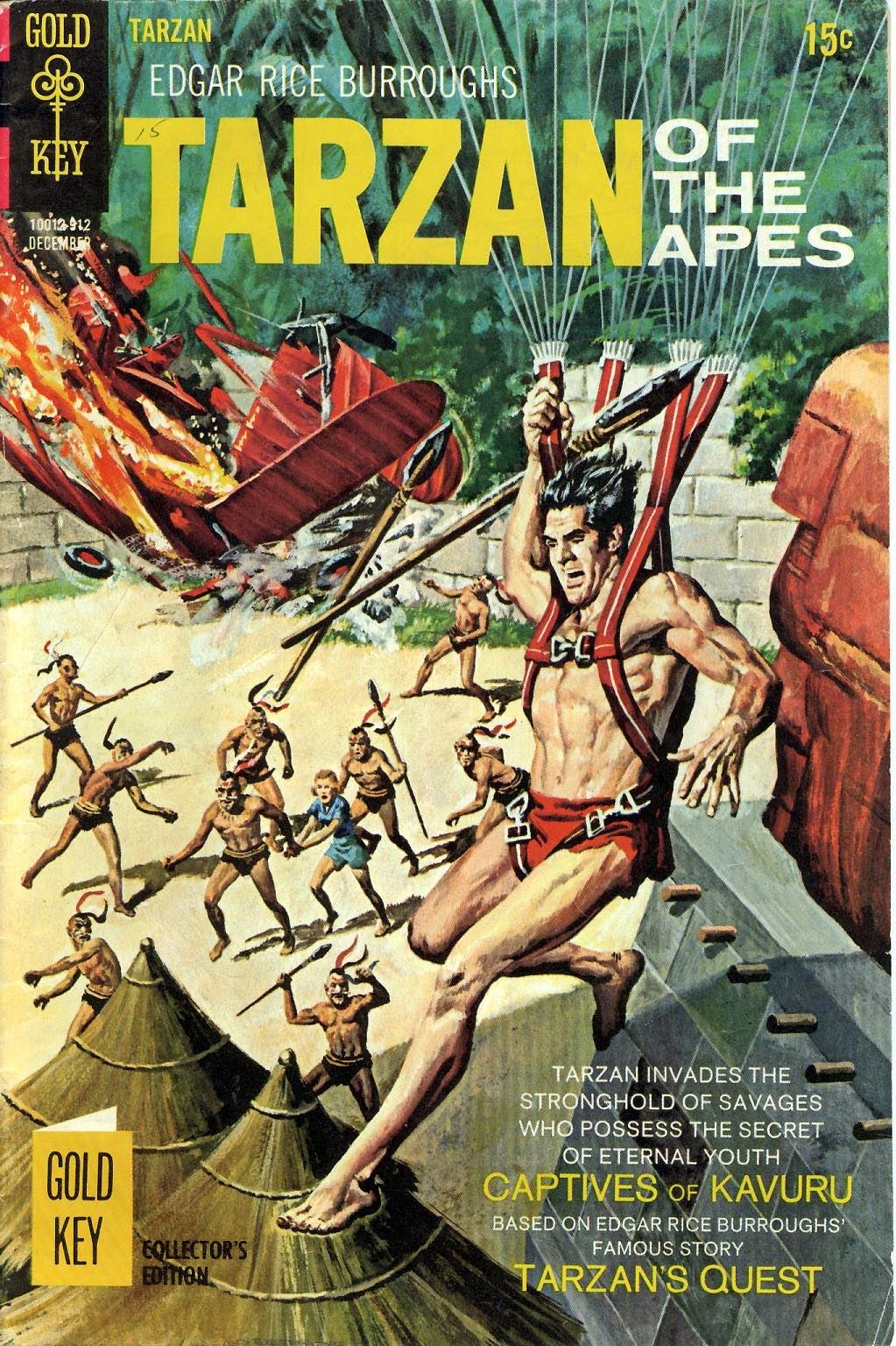 Tarzan (1962) issue 189 - Page 1