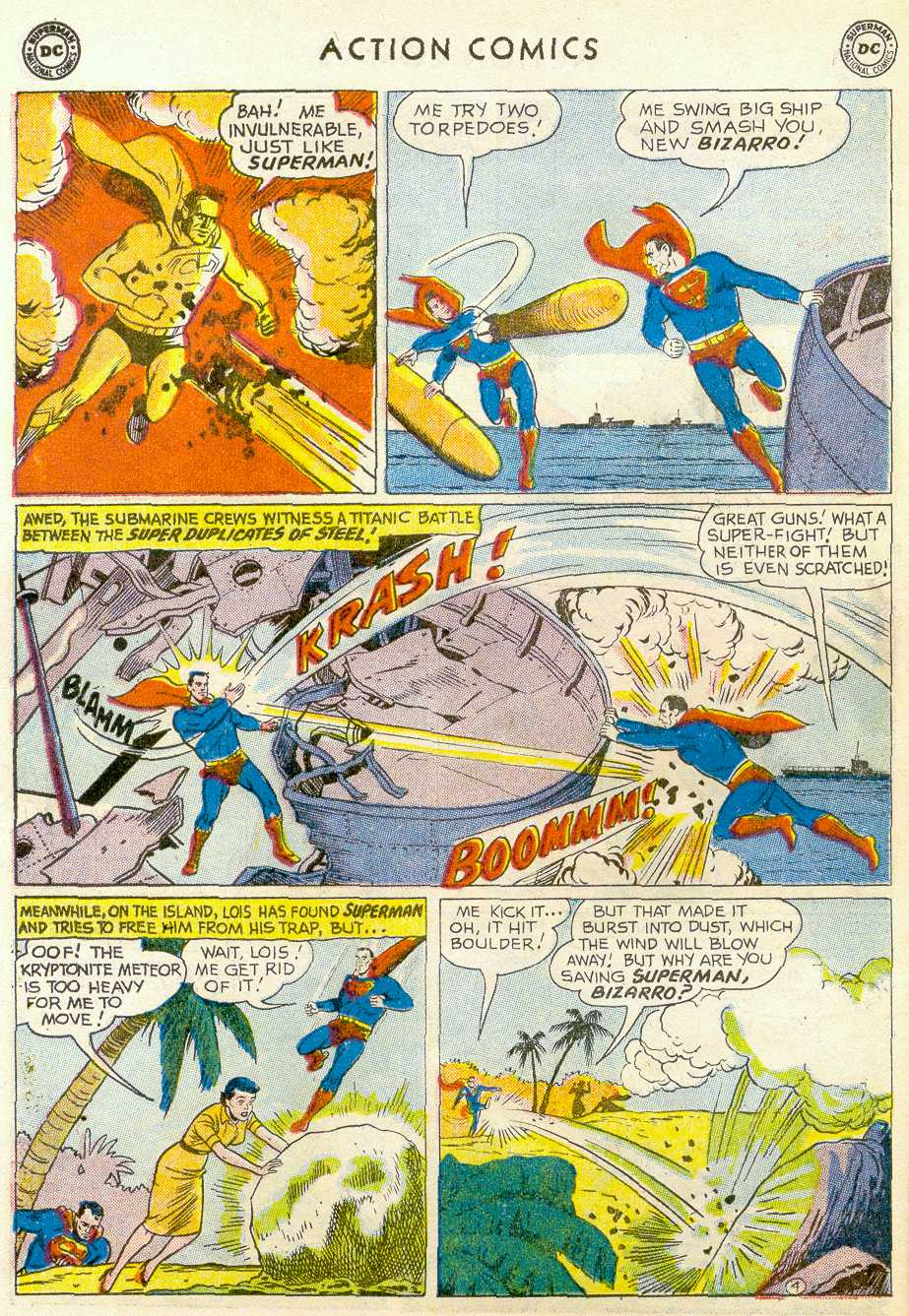 Read online Action Comics (1938) comic -  Issue #255 - 6