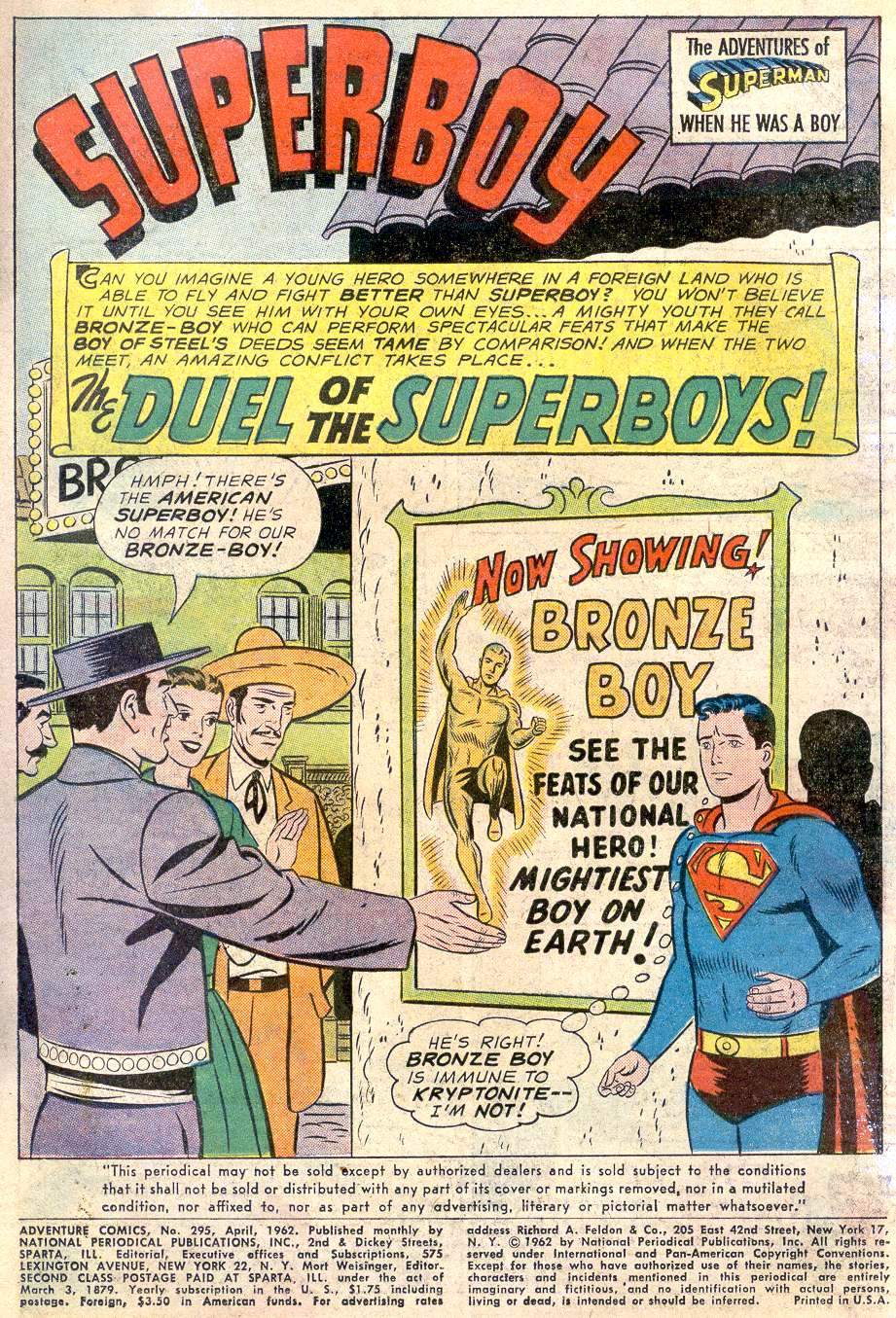 Read online Adventure Comics (1938) comic -  Issue #295 - 3
