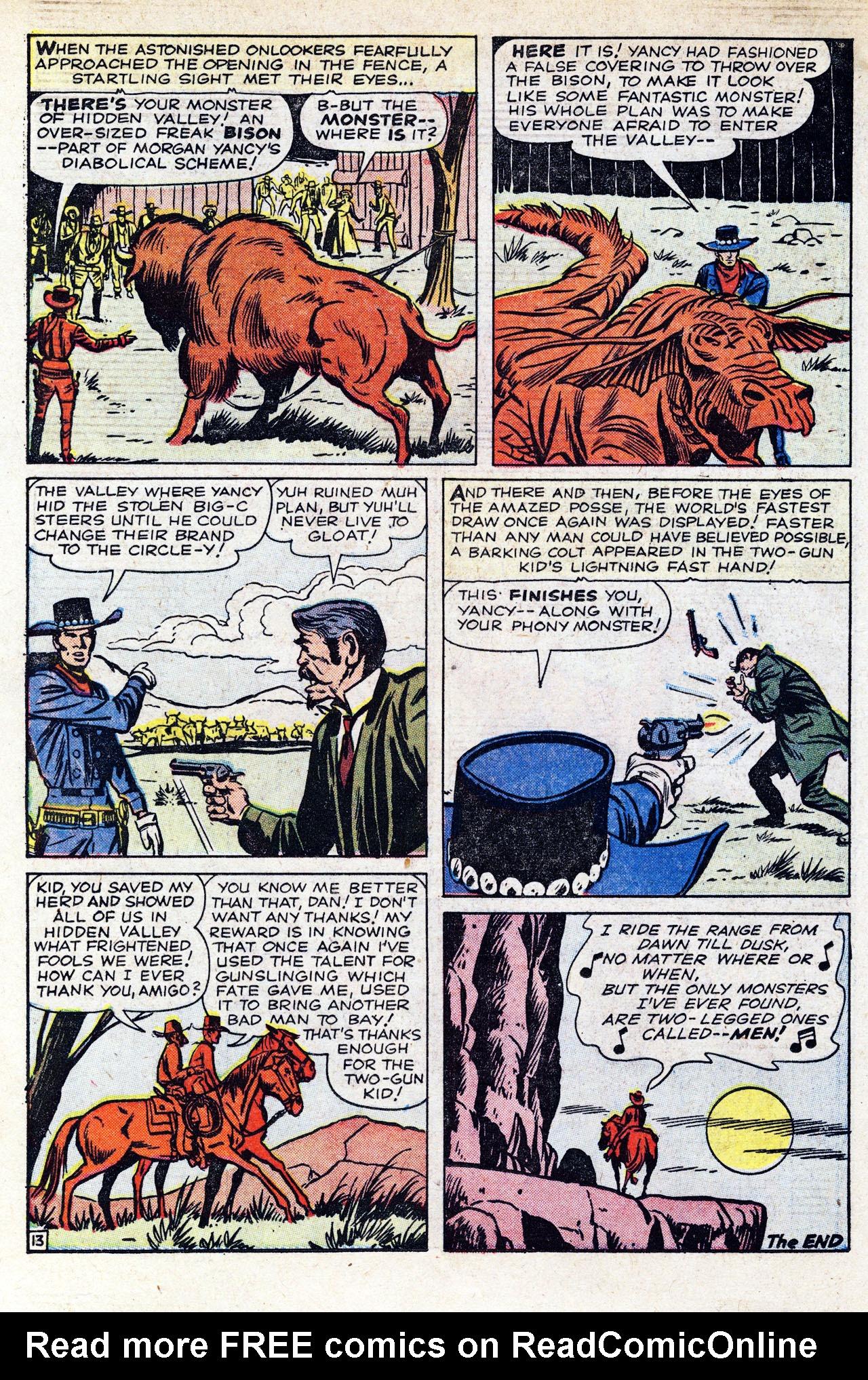 Read online Two-Gun Kid comic -  Issue #58 - 18