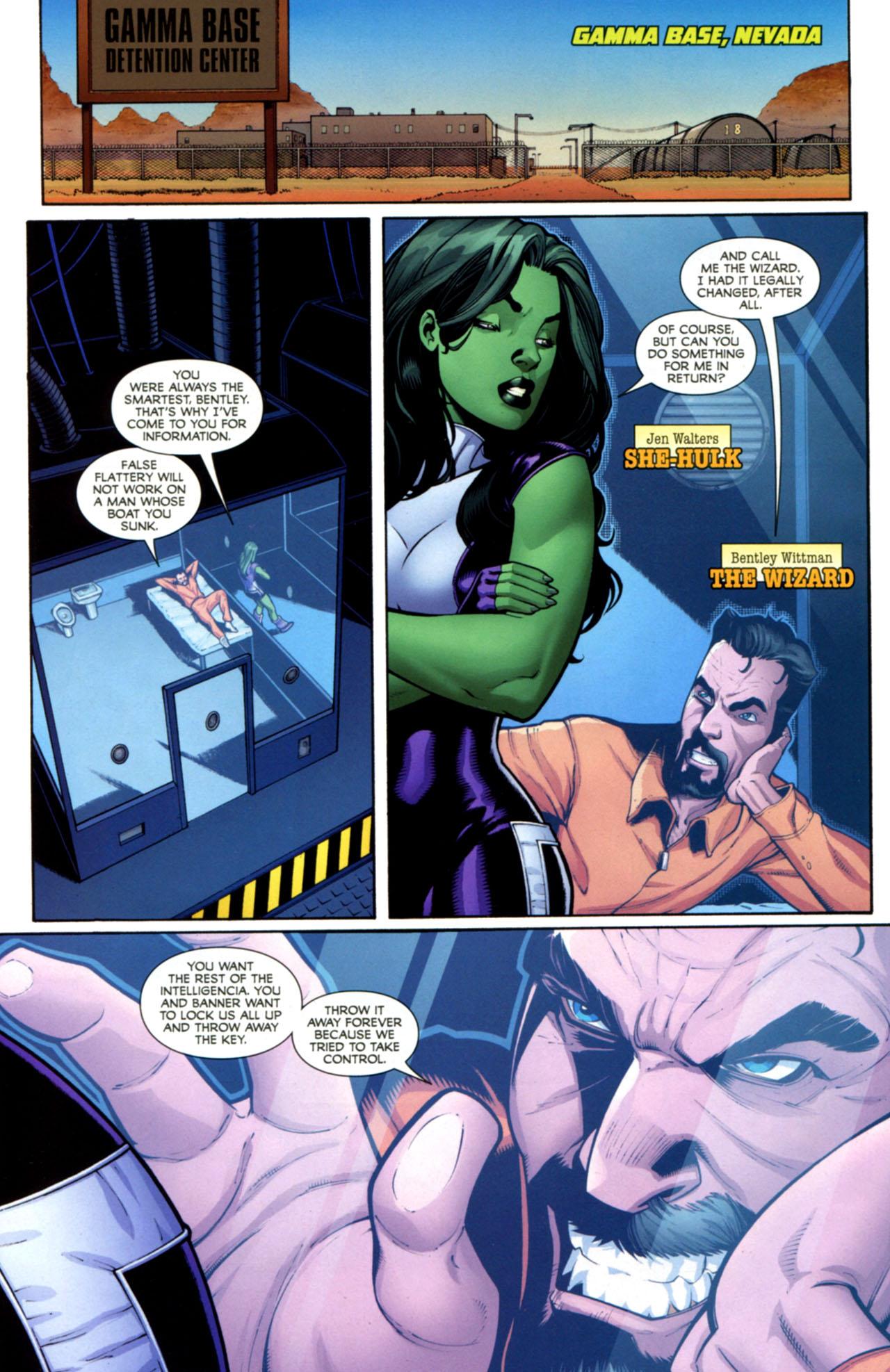 Read online She-Hulks comic -  Issue #2 - 3