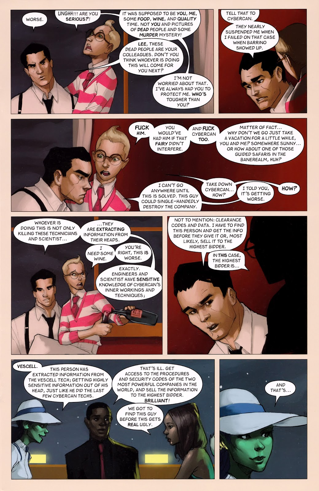 Read online Vescell comic -  Issue #6 - 19