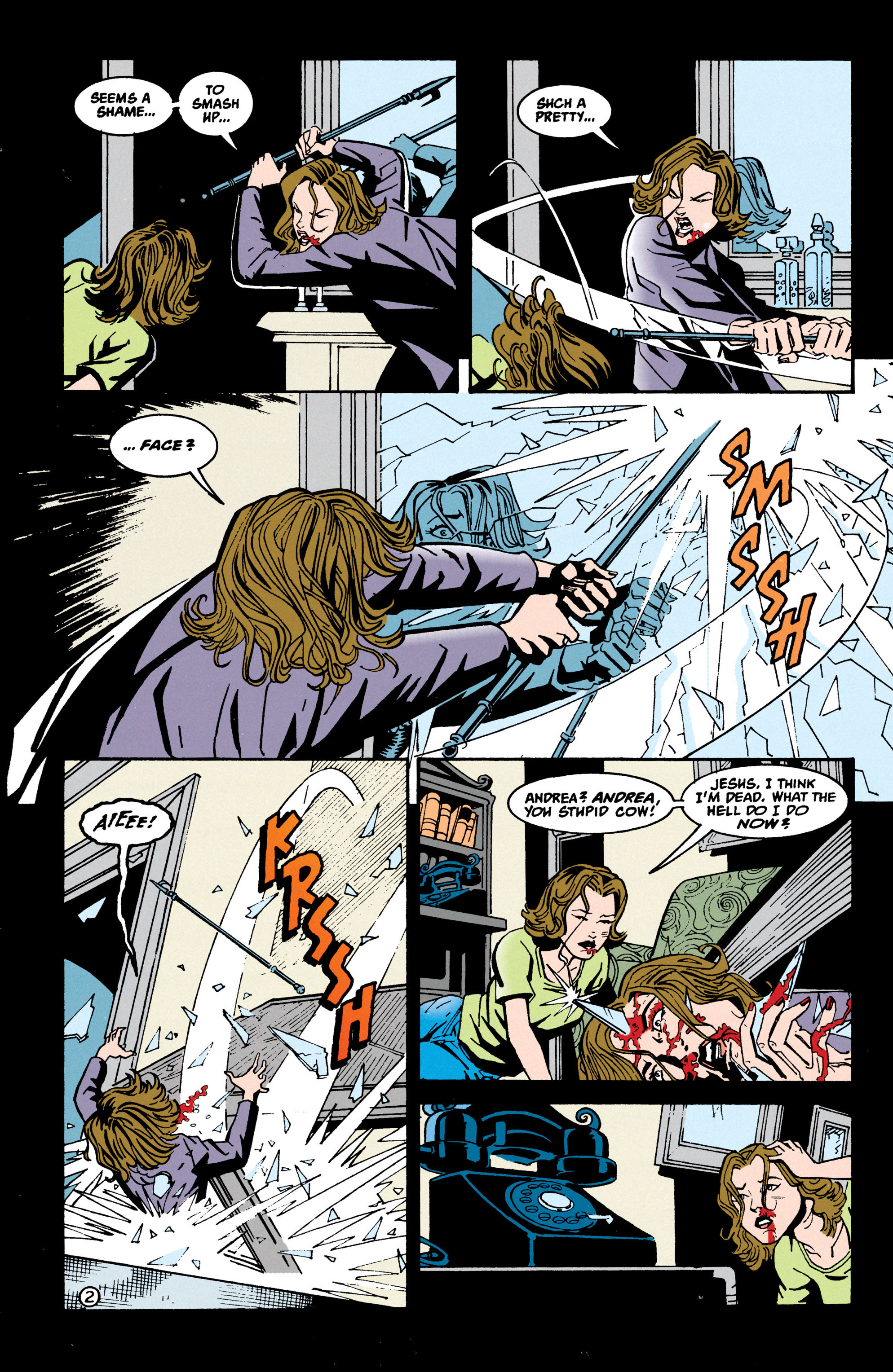 Read online Shade, the Changing Man comic -  Issue #70 - 3