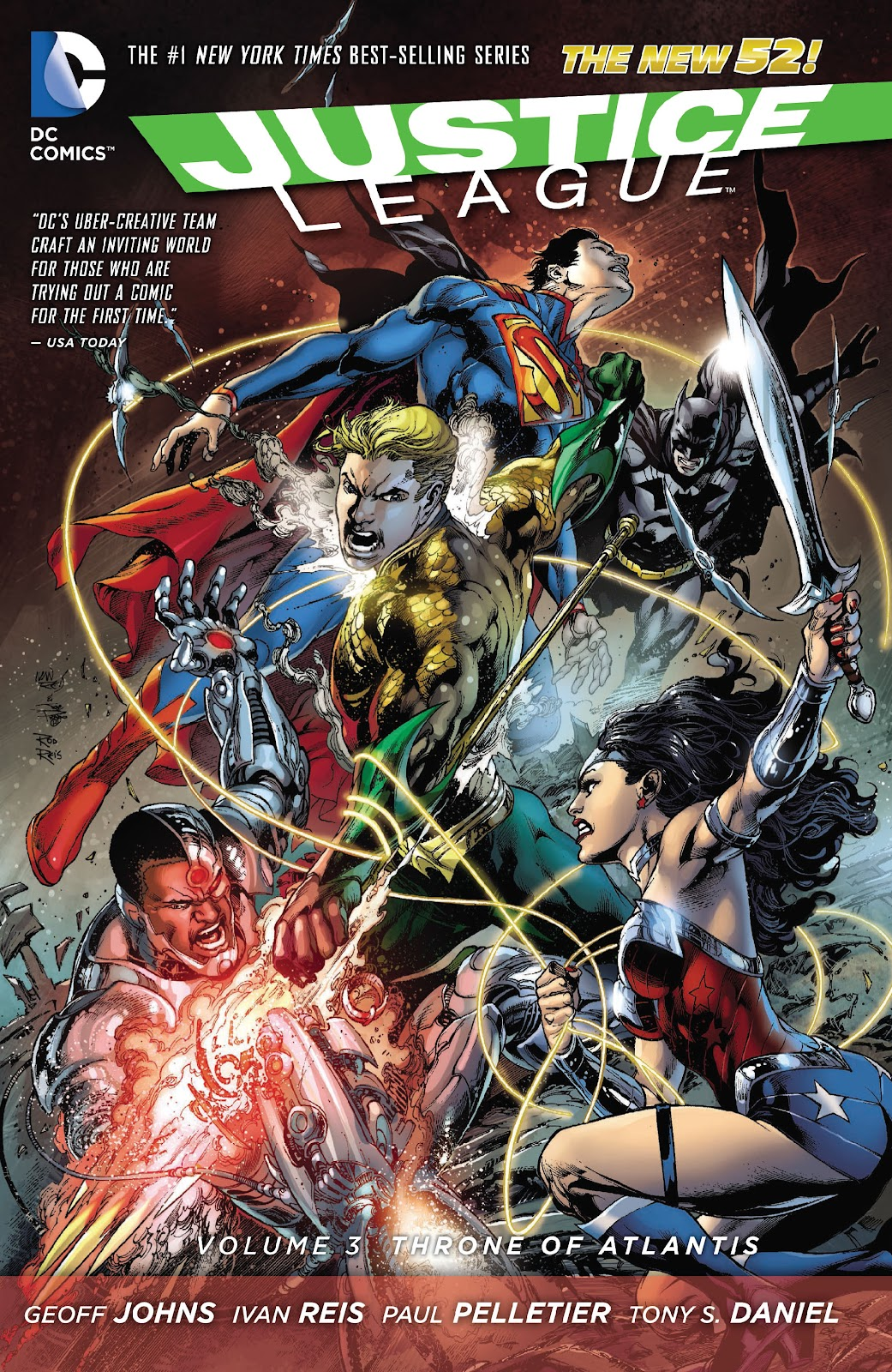 Justice League (2011) issue TPB 3 - Page 1