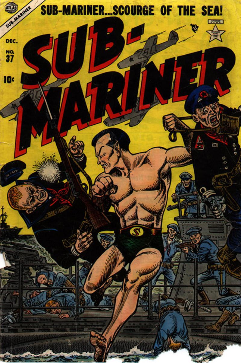 Sub-Mariner Comics 37 Page 1