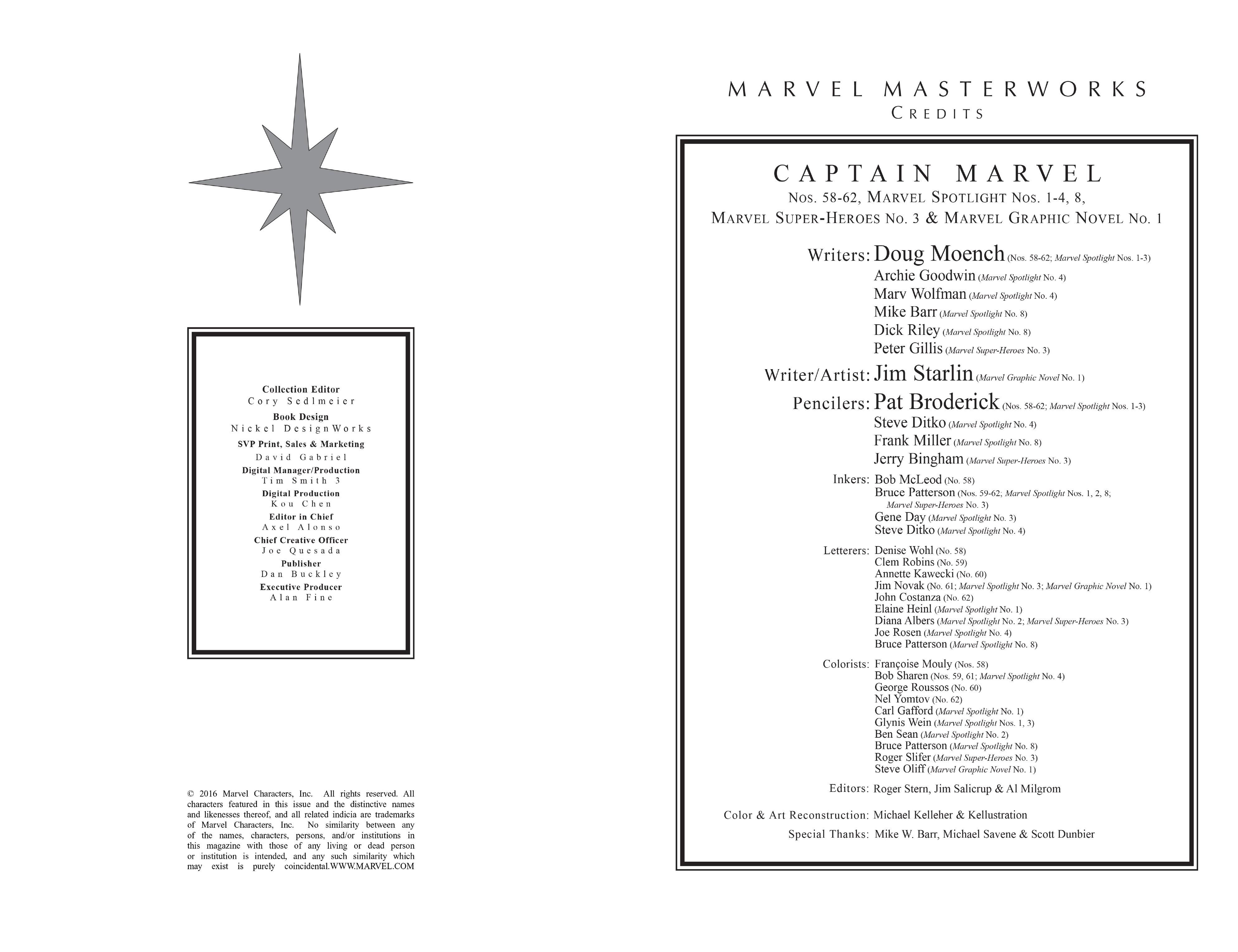 Marvel Masterworks: Captain Marvel TPB_6_(Part_1) Page 3