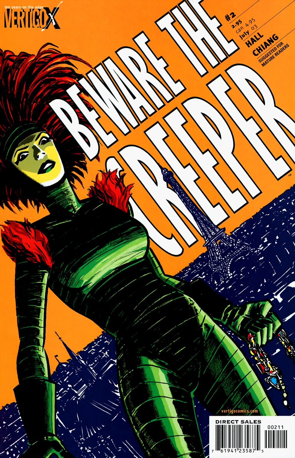 Read online Beware The Creeper (2003) comic -  Issue #2 - 1