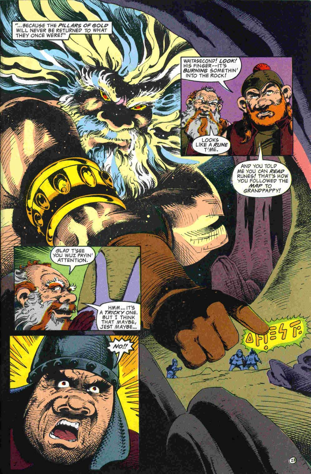 Read online Advanced Dungeons & Dragons comic -  Issue #32 - 24