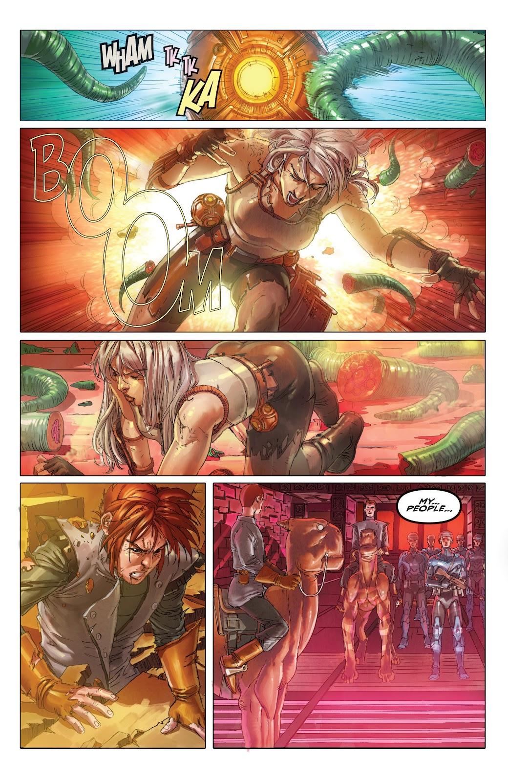 Read online Taarna comic -  Issue #4 - 15