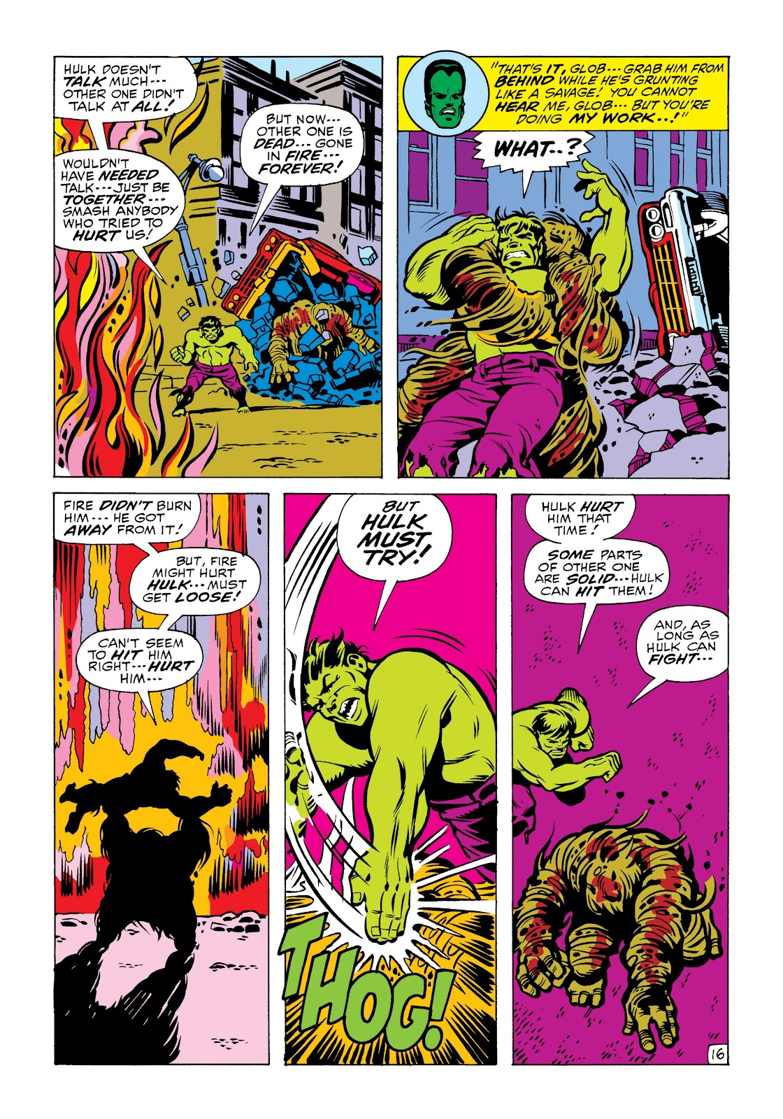 Read online Marvel Masterworks: The Incredible Hulk comic -  Issue # TPB 6 (Part 2) - 69