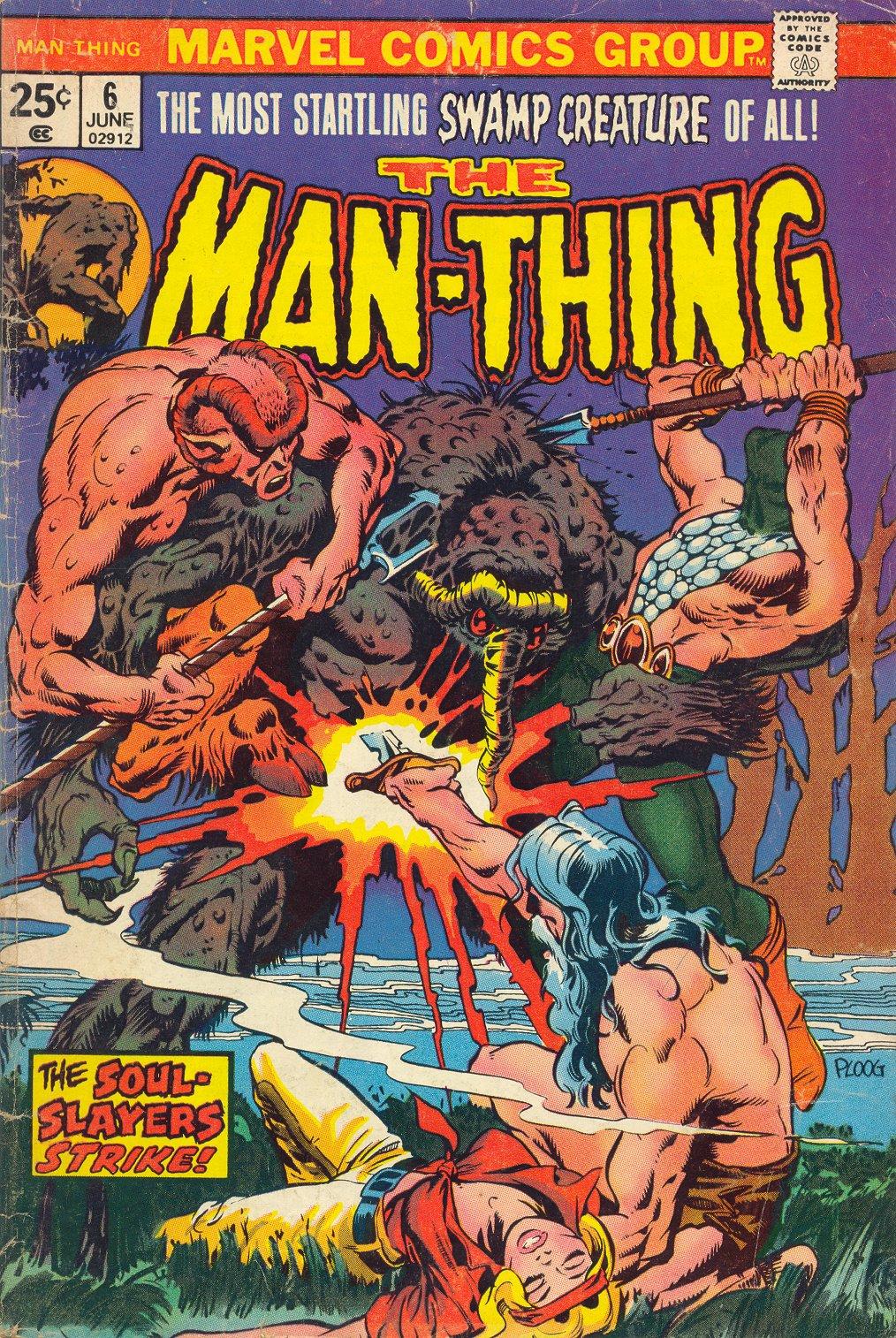 Man-Thing (1974) 6 Page 1