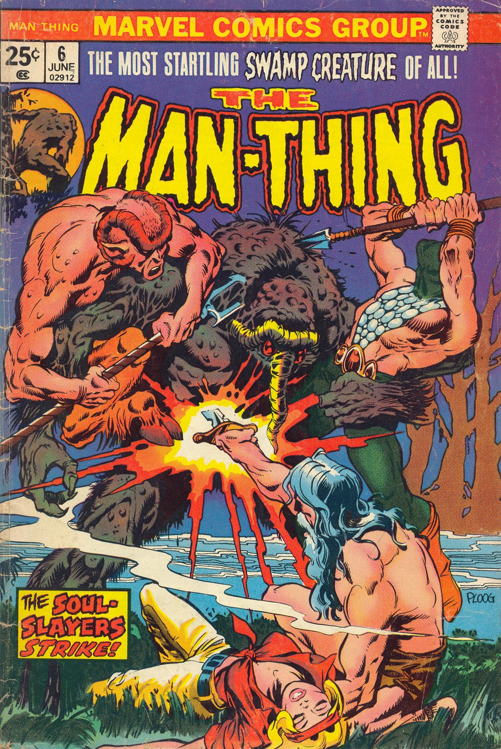 Man-Thing (1974) issue 6 - Page 1