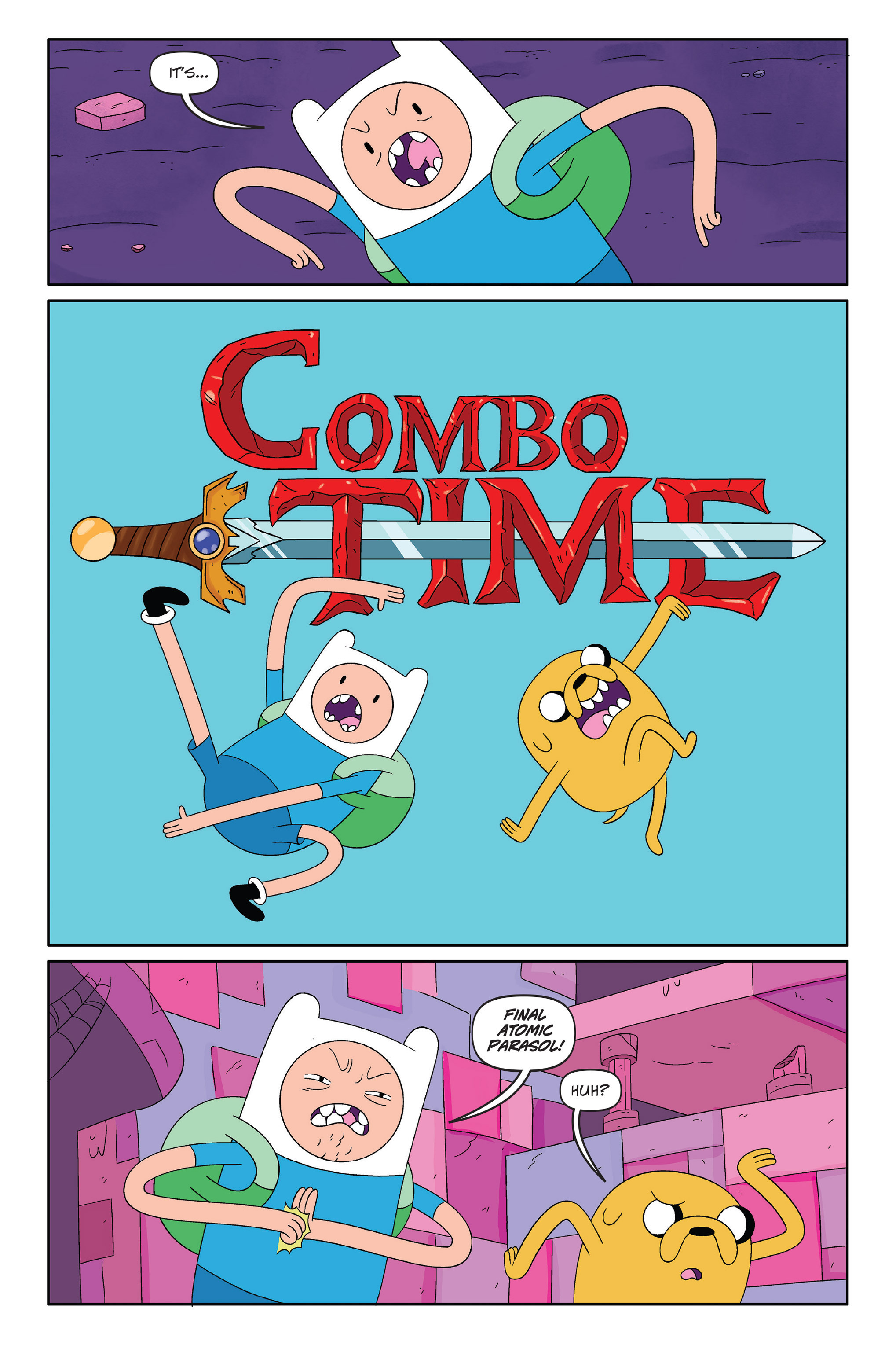 Read online Adventure Time: The Four Castles comic -  Issue #Adventure Time: The Four Castles TPB - 7
