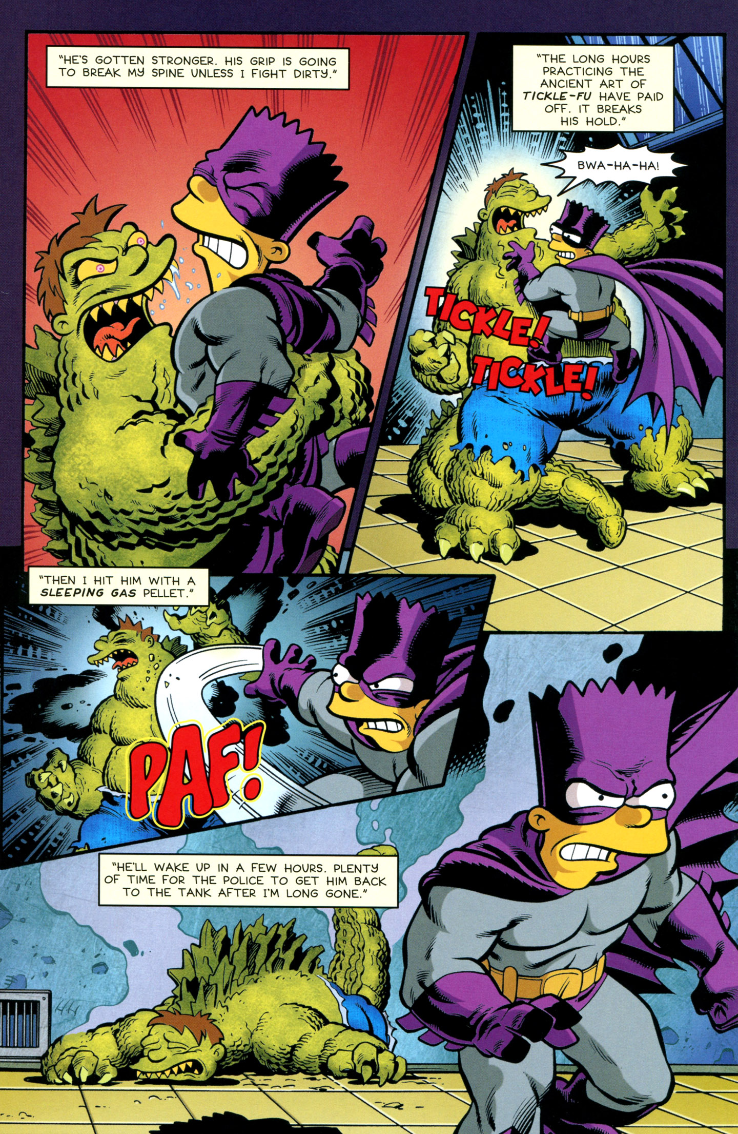 Read online Treehouse of Horror comic -  Issue #18 - 34