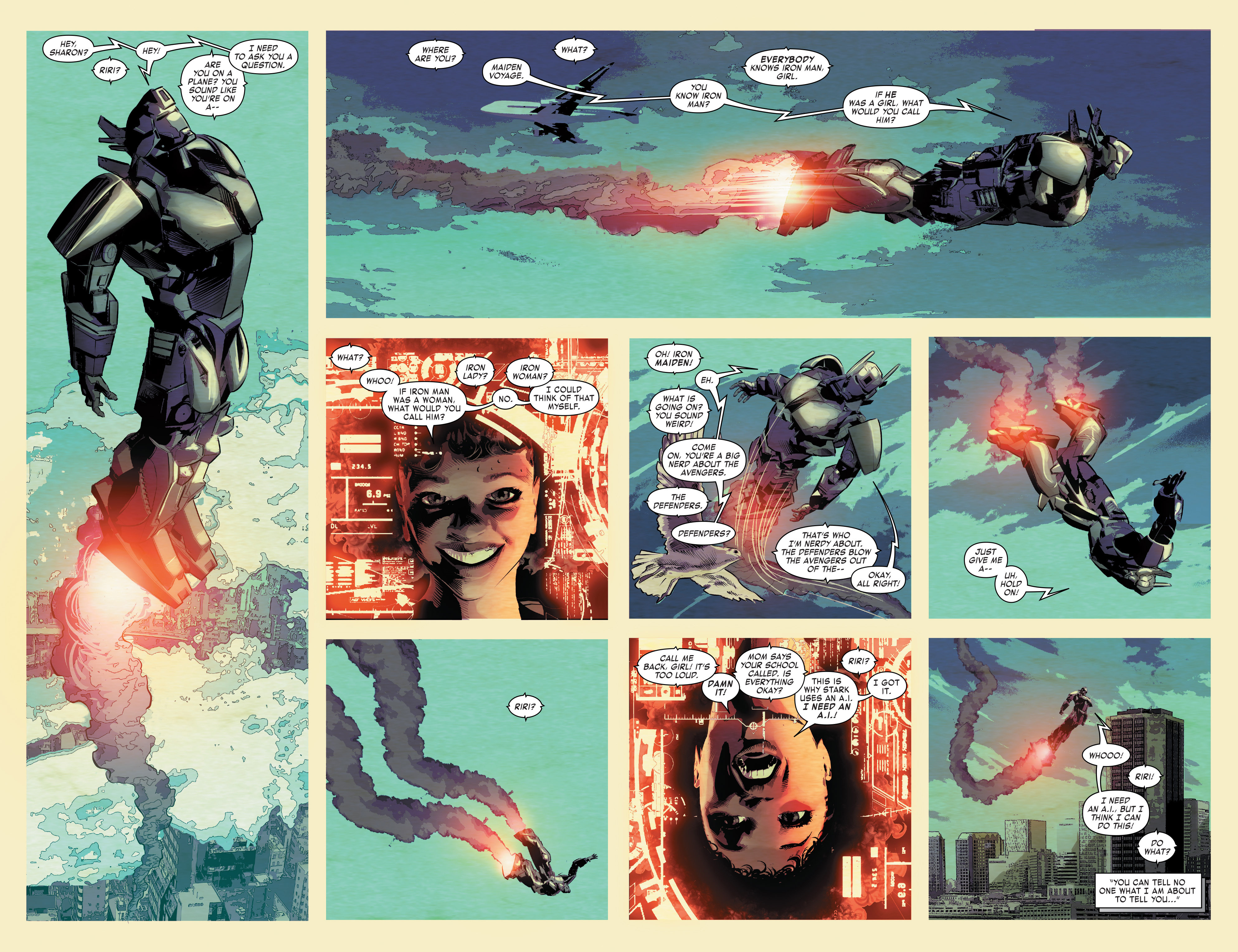 Read online True Believers: Invincible Iron Man-The War Machines comic -  Issue # Full - 104
