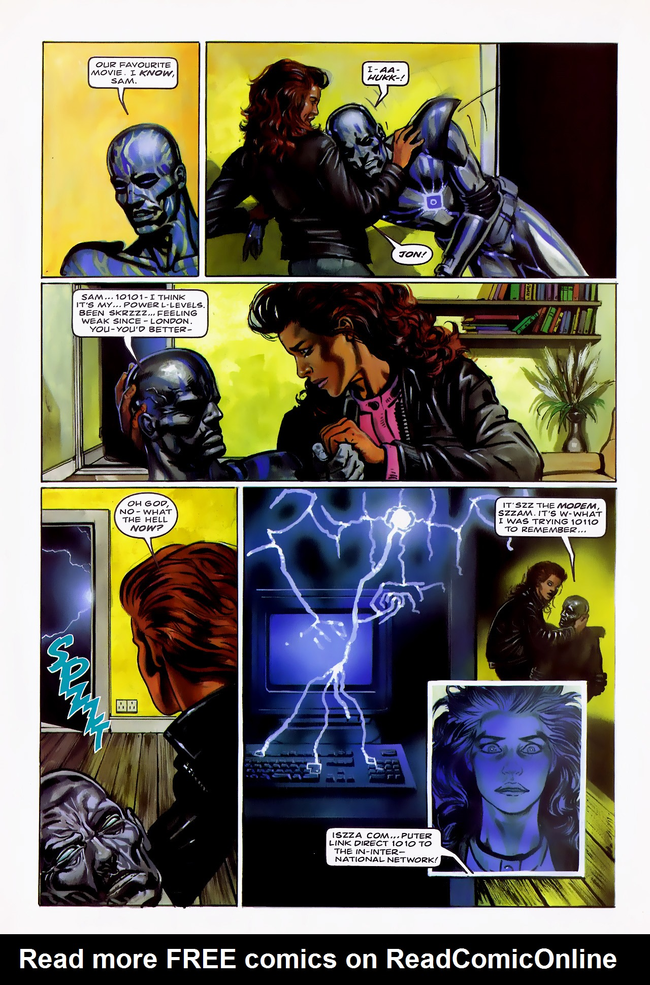 Read online Overkill comic -  Issue #13 - 19